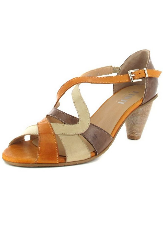Fidji Sandaletten in Braun/Orange