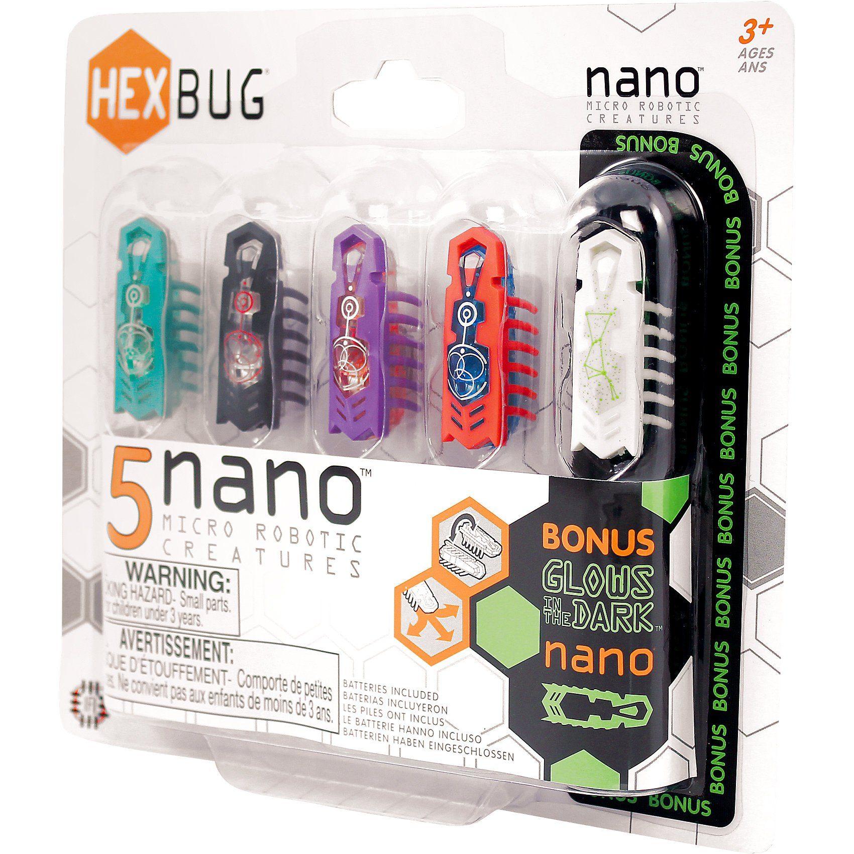 Hexbug - Nano 5er Pack, sortiert