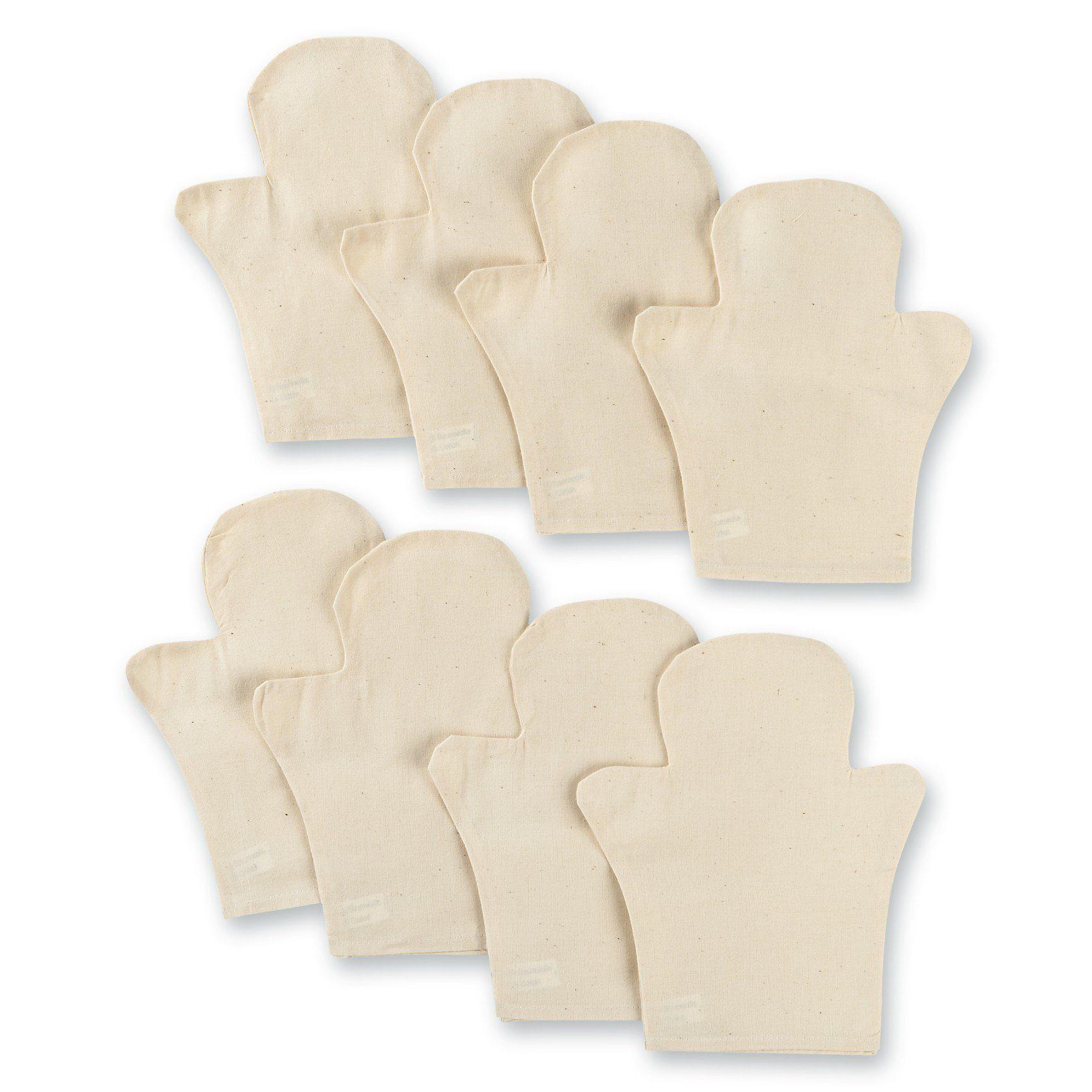 prohobb Blanko-Handpuppen zum Selbstgestalten, 8 Stück
