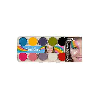 C. KREUL Fantasy Aqua Make Up Schminkkasten Rainbow, 14-tlg.