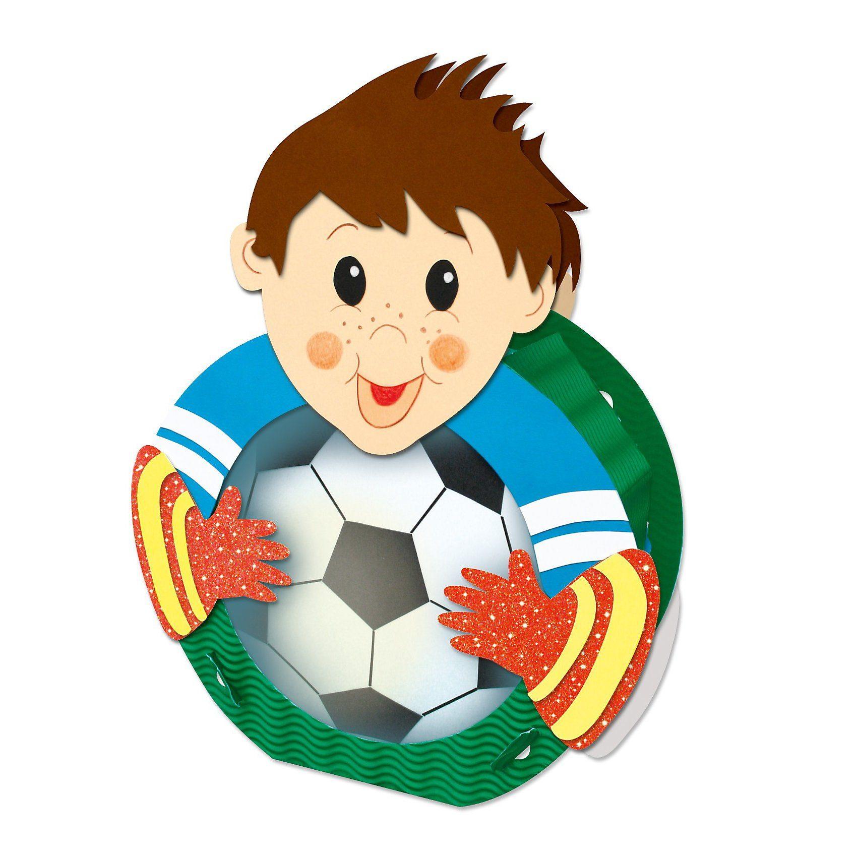 URSUS Laternenbastelset Fußballer