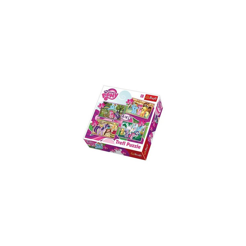 Trefl Puzzle-Set 4in1 - 35/48/54/70 Teile - My little Pony