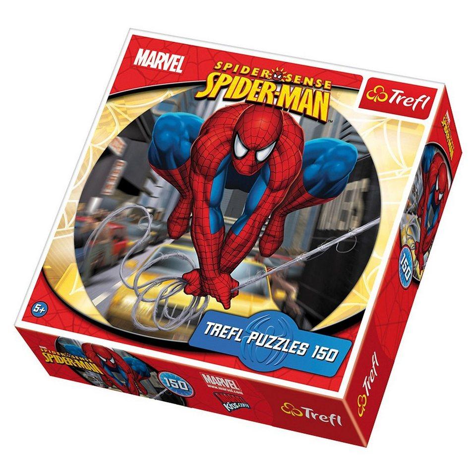 Trefl Rundpuzzle 150 Teile - Spiderman