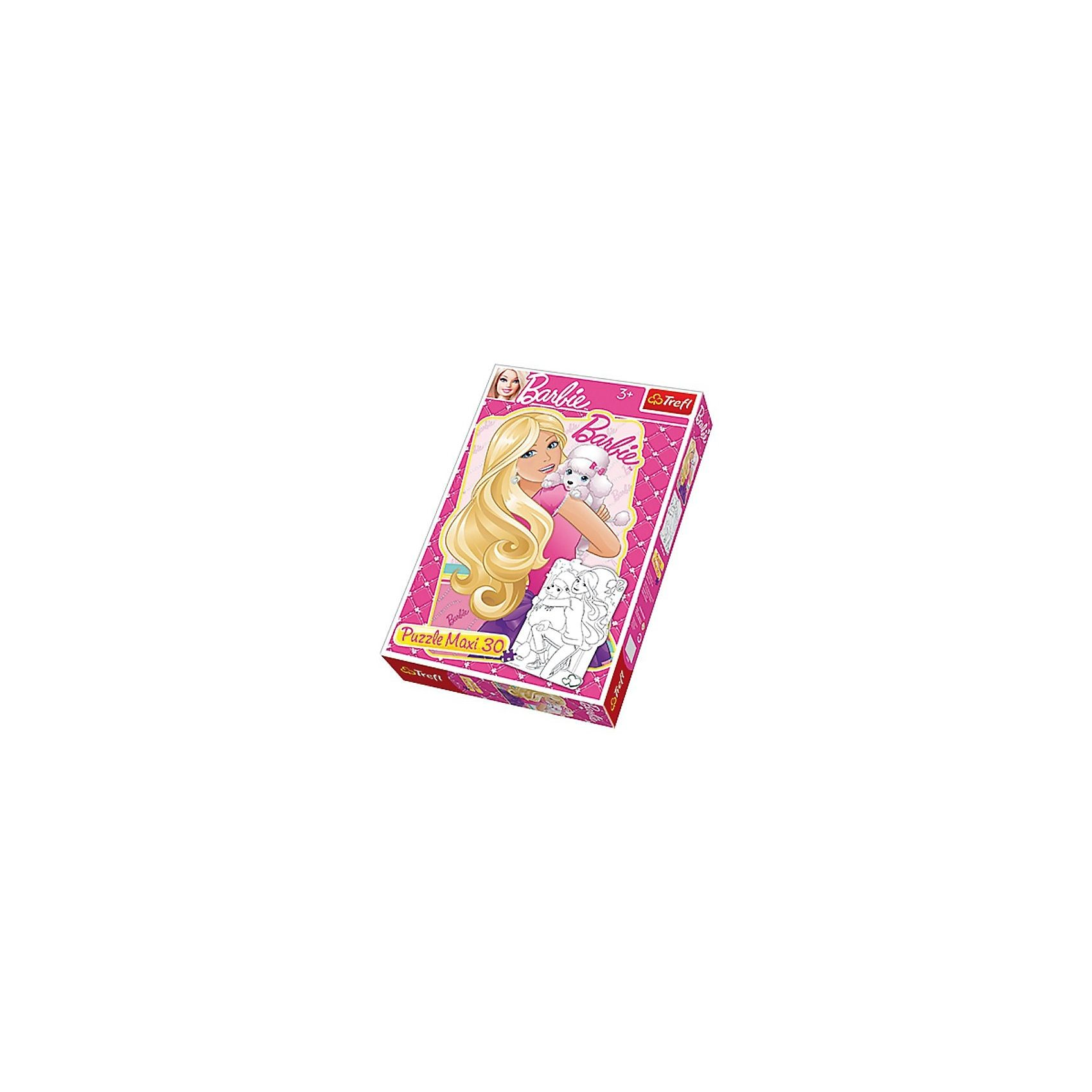 Trefl Maxipuzzle 30 Teile doppelseitig - Barbie