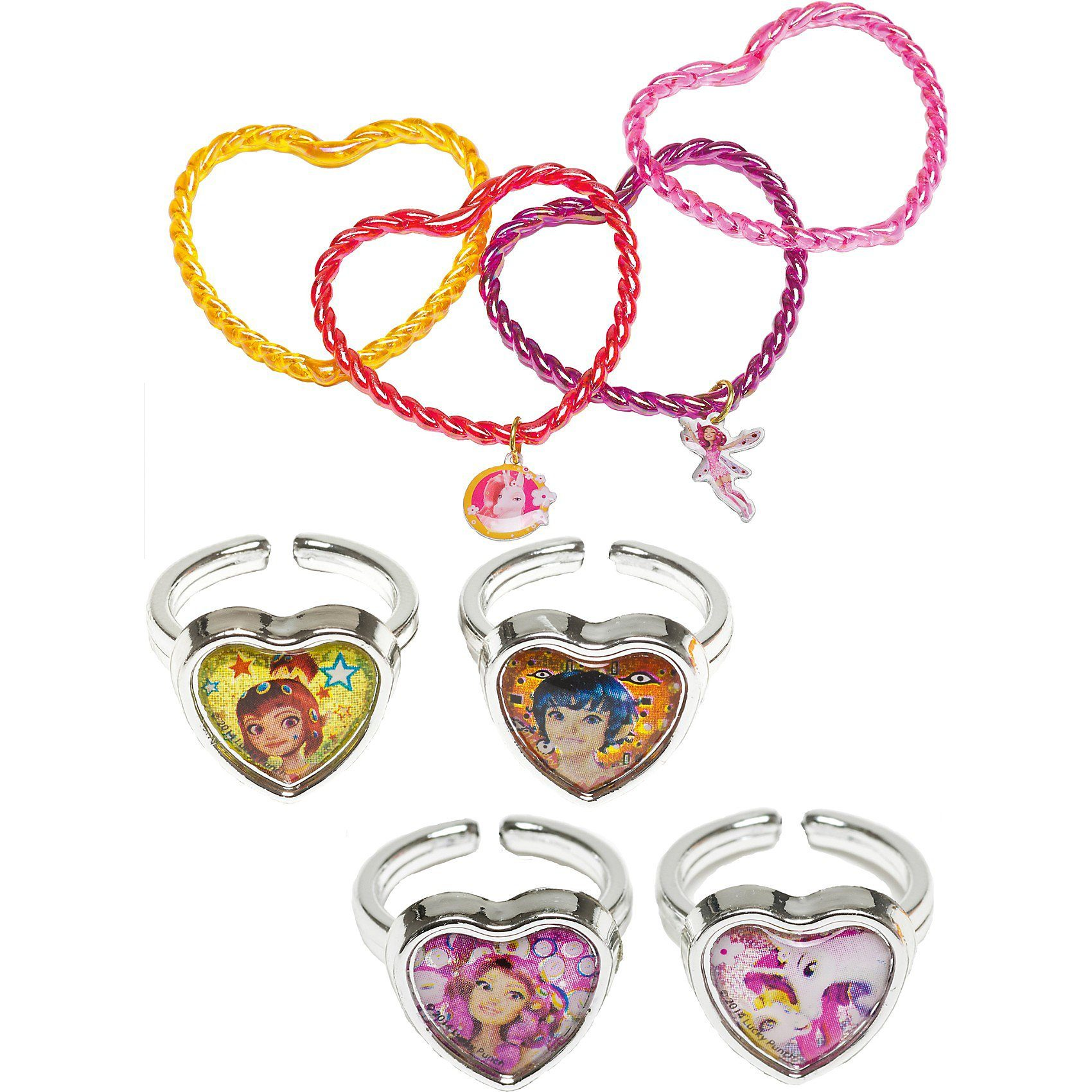 JOY TOY Schmuckset Set Mia & Me (Ring & Armband)
