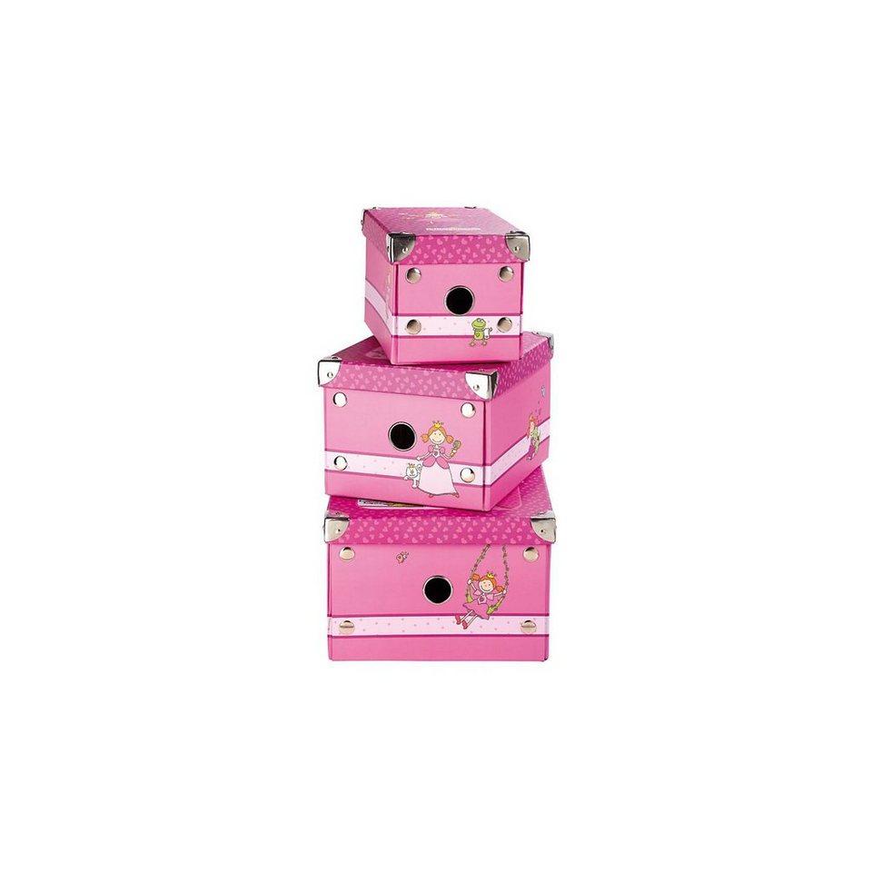 sigikid 24396 Boxen 3-er Set Pinky Queeny