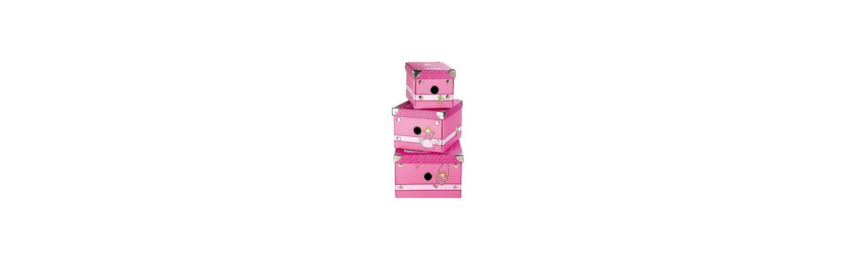 sigikid Boxen 3-er Set Pinky Queeny (24396)