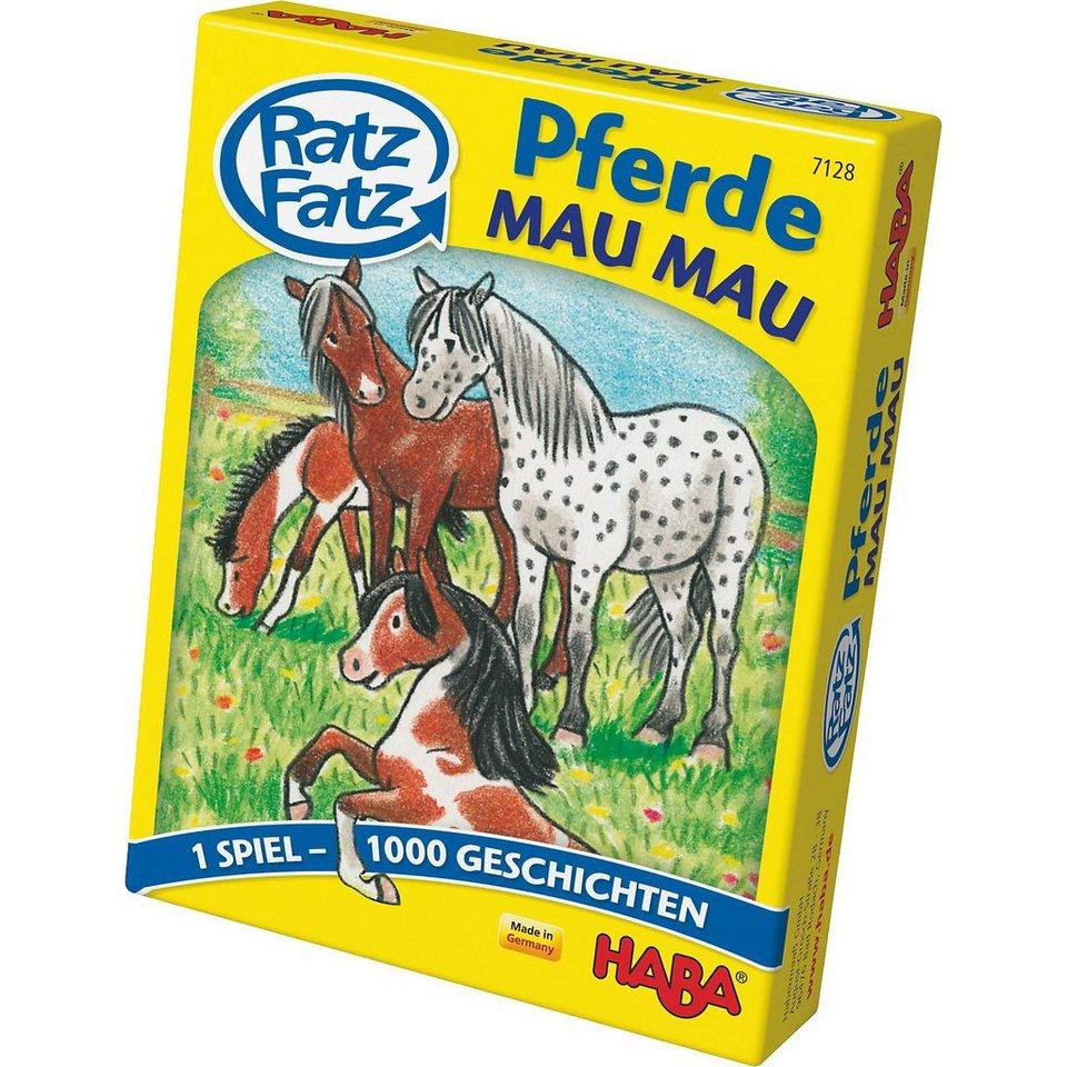 Haba Ratz Fatz Pferde - Mau Mau