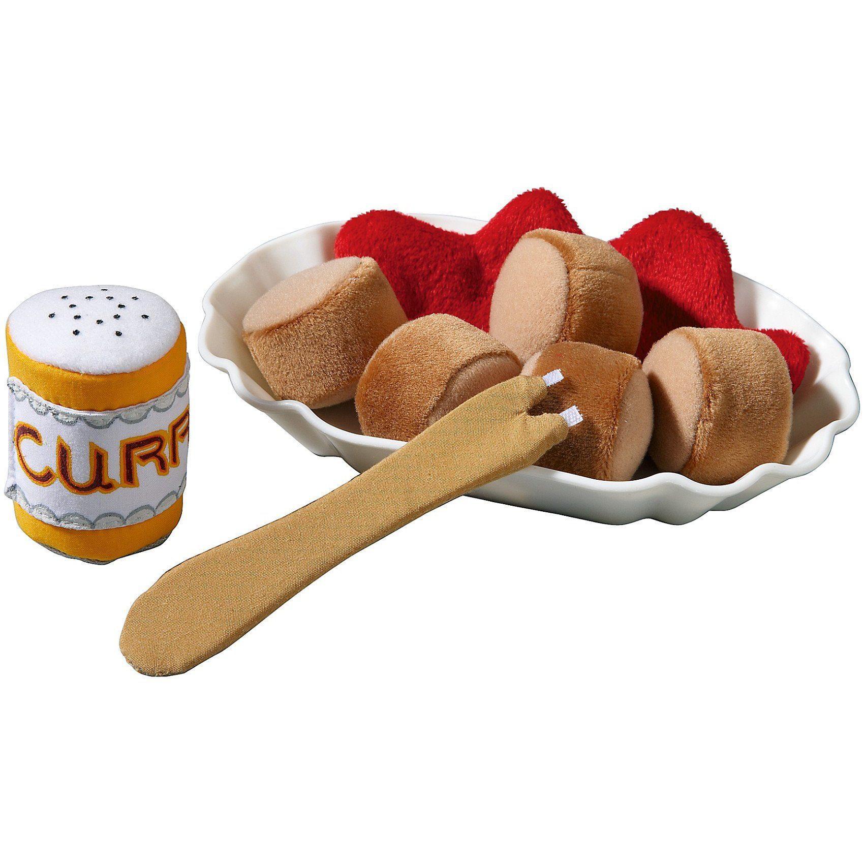Haba 301028 Currywurst Spiellebensmittel