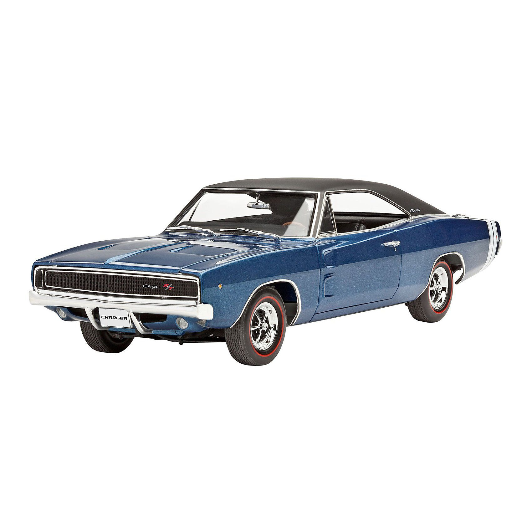 Revell Modellbausatz Modellbausatz '1968 Dodge Charger (2in1) im Ma