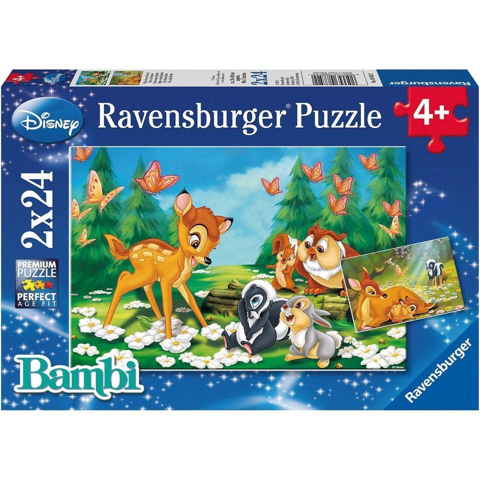 Ravensburger Disney Mein Freund Bambi 2 x 24