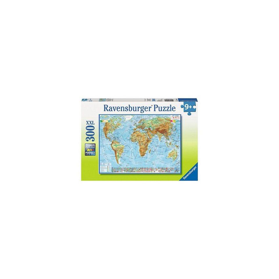 Ravensburger Puzzle 300 Teile Politische Weltkarte
