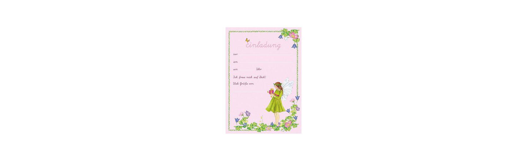 Grätz Verlag Einladungsbriefe im Set Flirr, A5, 8 Stück inkl. Umschläge