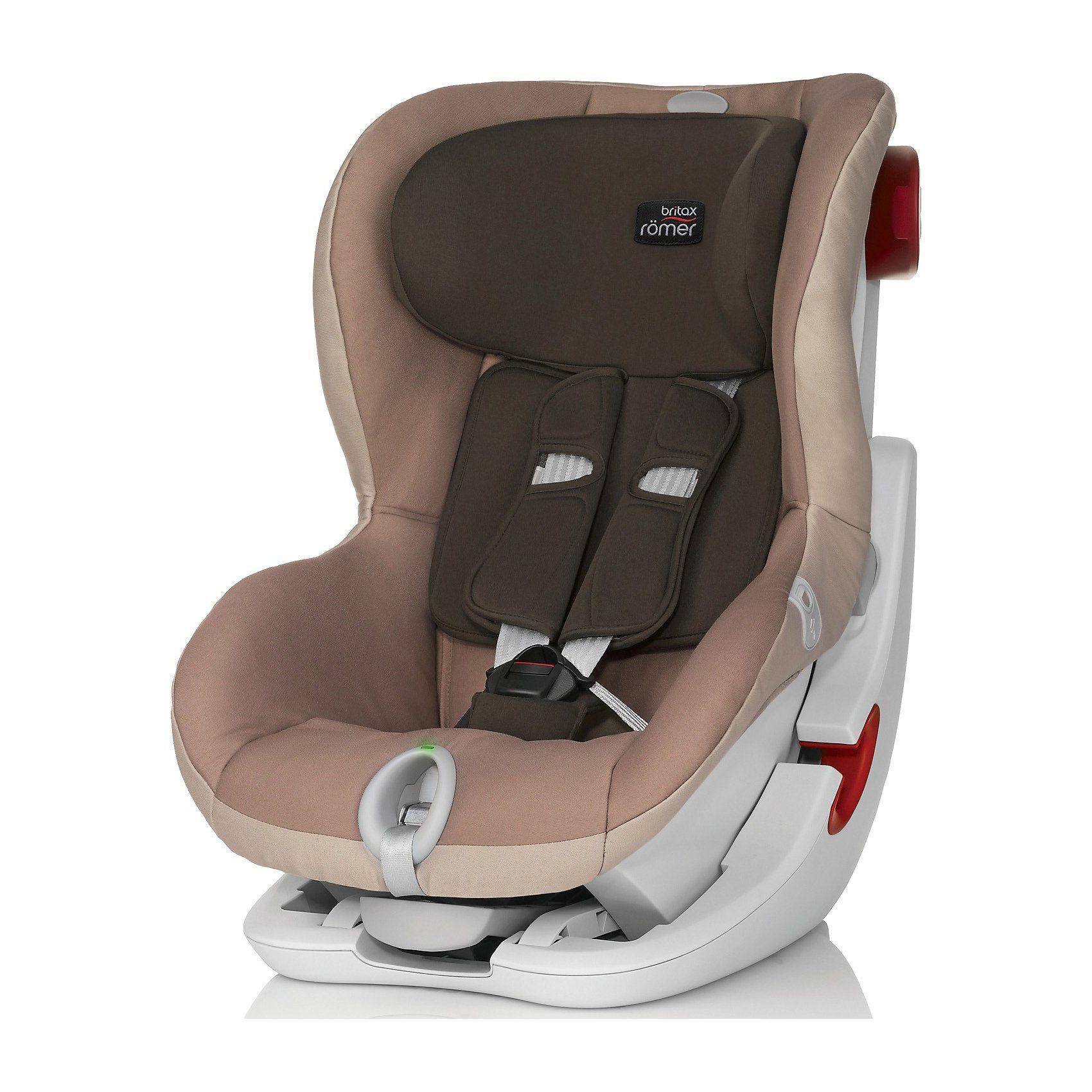 Britax Römer Auto-Kindersitz King II LS, Taupe Grey, 2015