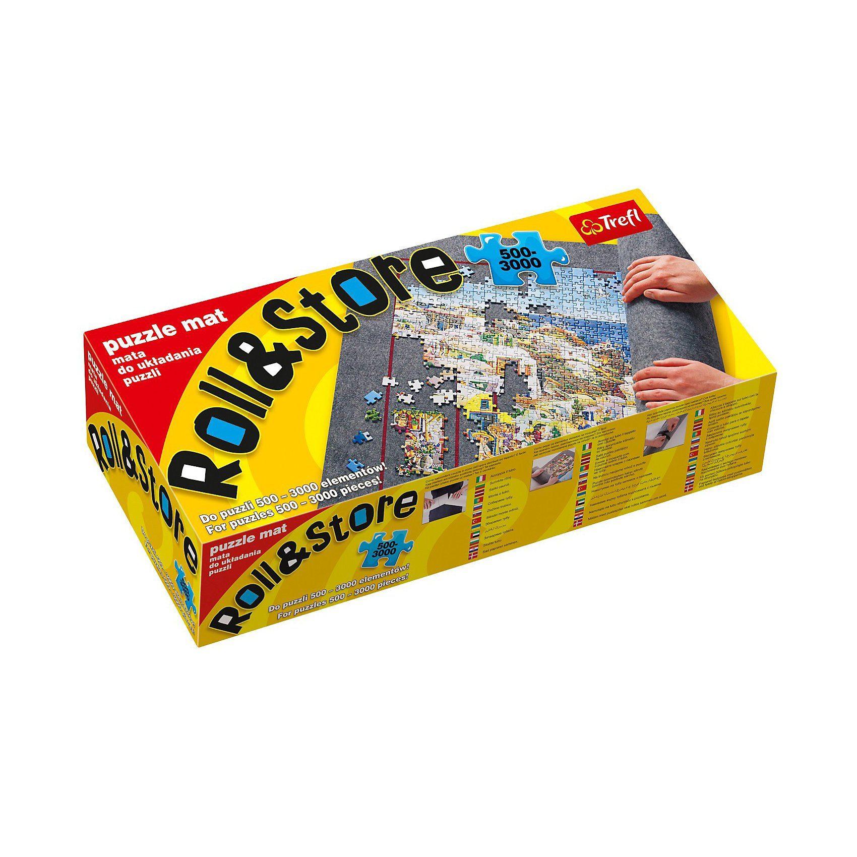 Trefl Puzzlematte Roll & Store für 500-3000 Teile