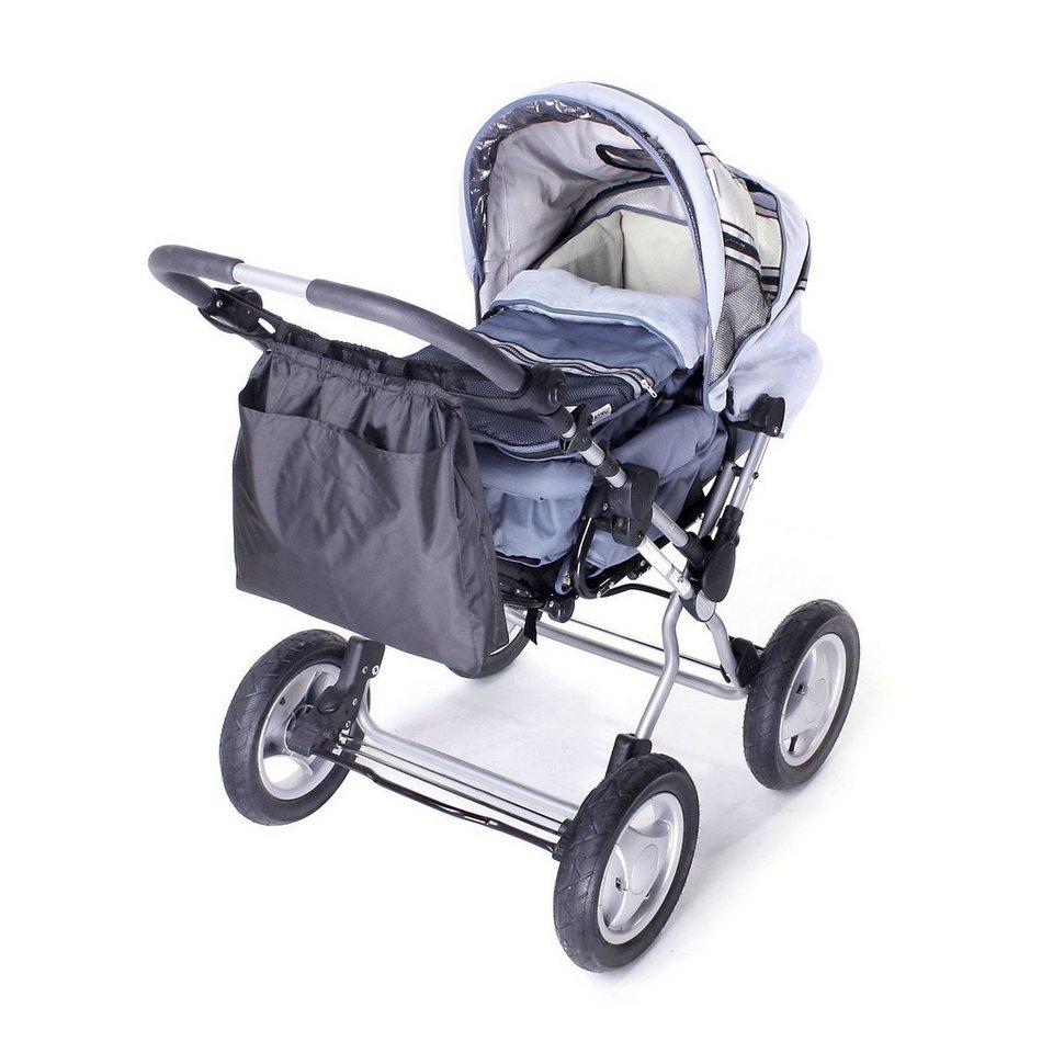 Reer Tasche für Kinderwagen, Sportwagen und Buggys in schwarz