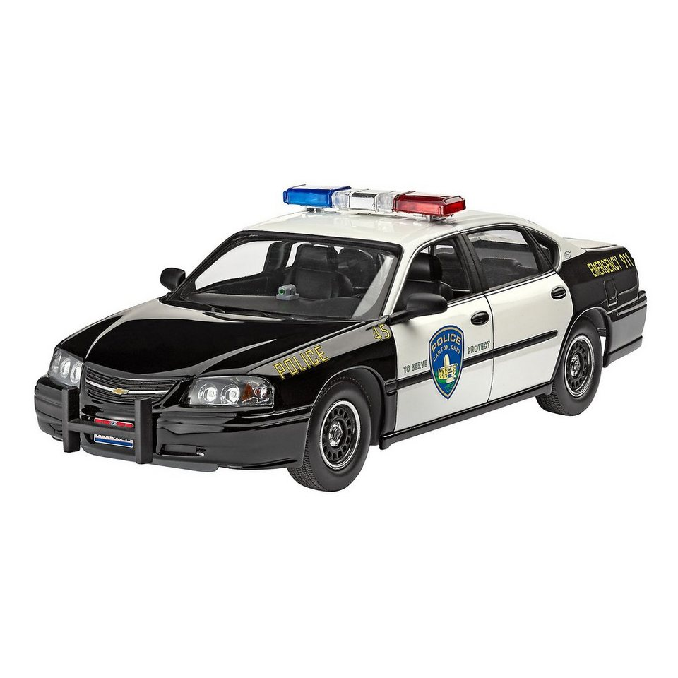 revell modellbausatz chevy impala police car im ma stab 1 25 online kaufen otto. Black Bedroom Furniture Sets. Home Design Ideas
