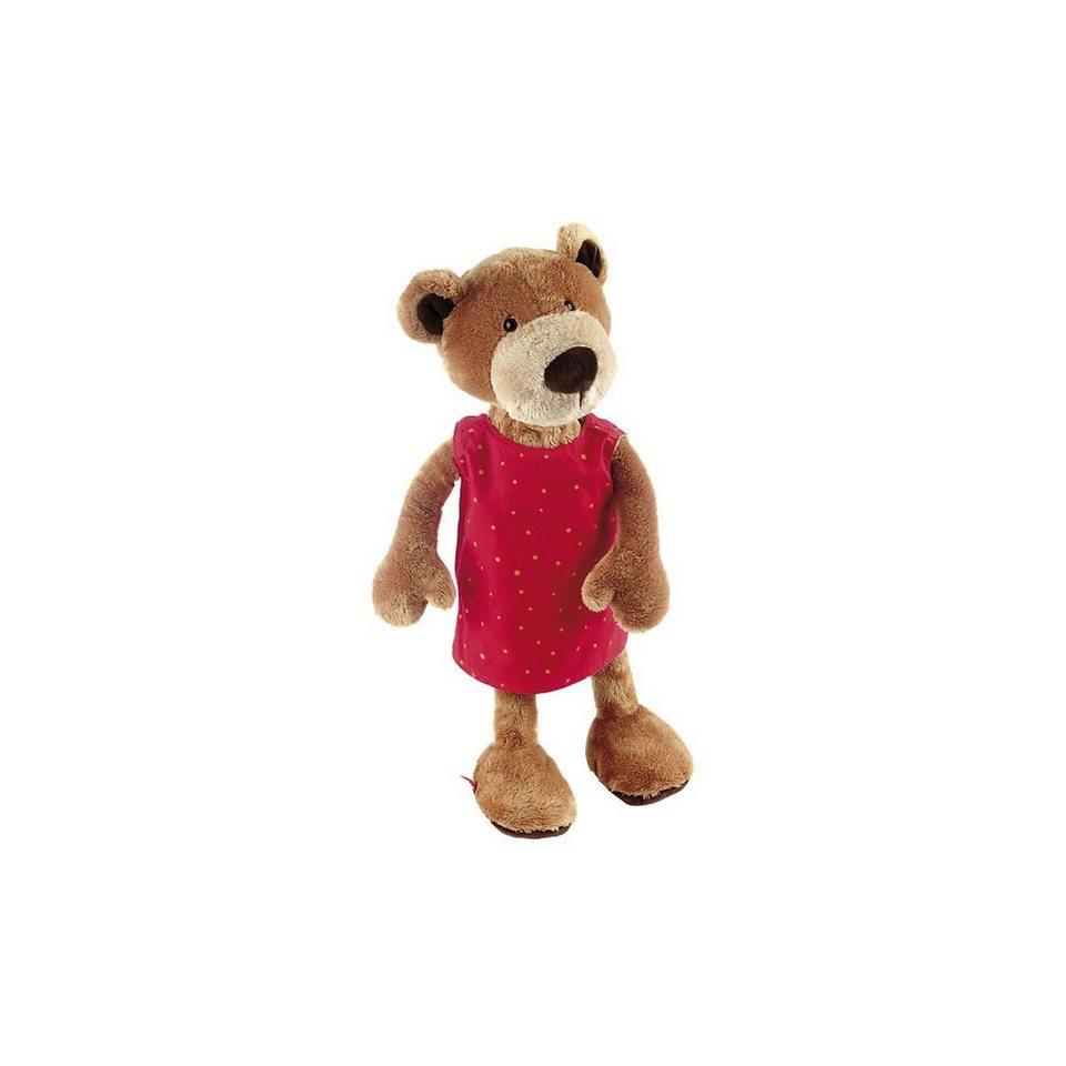 sigikid Sweety Bär mit Wendekleid, 40cm (38407)