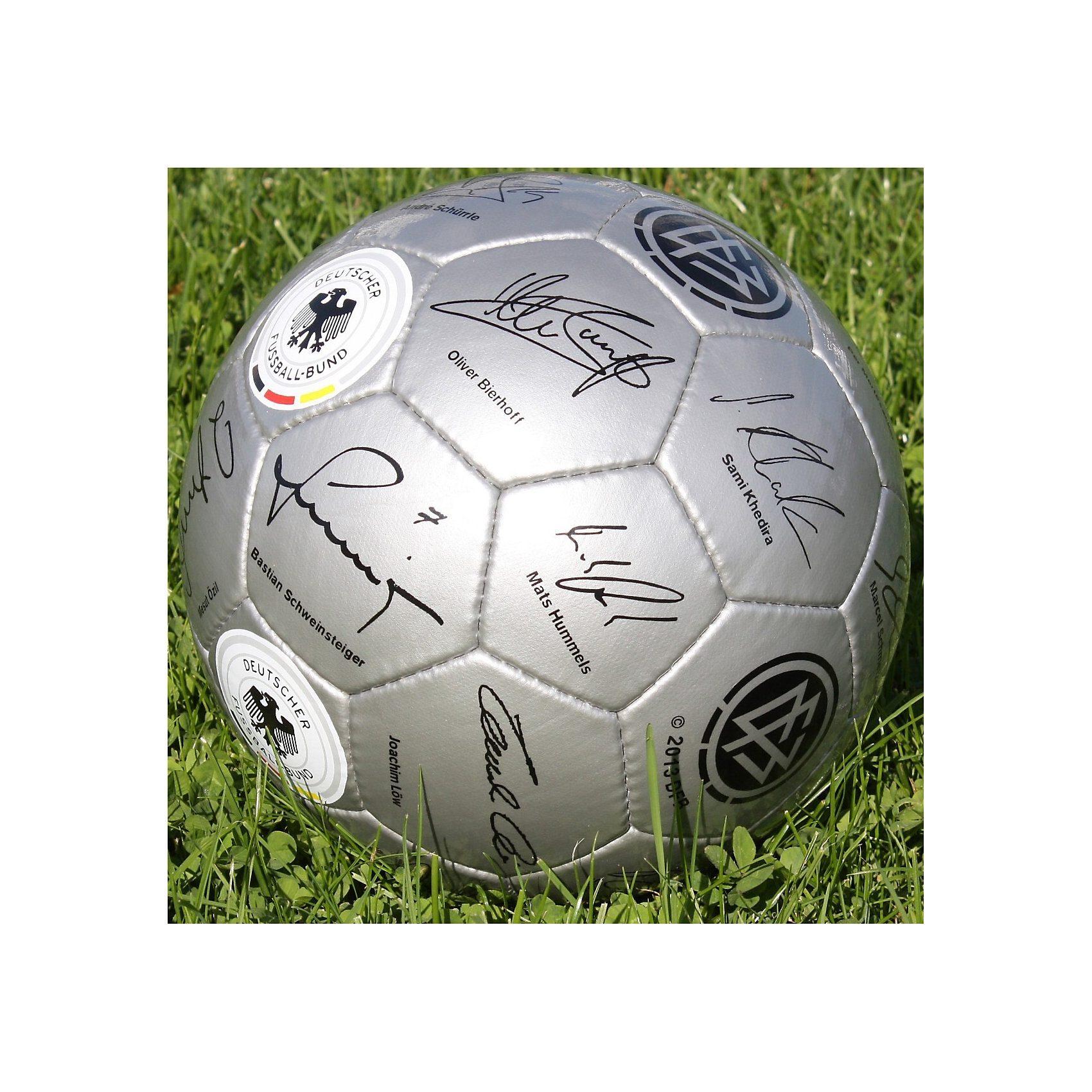 4UNIQ DFB Unterschriftenball Gr. 5 silber