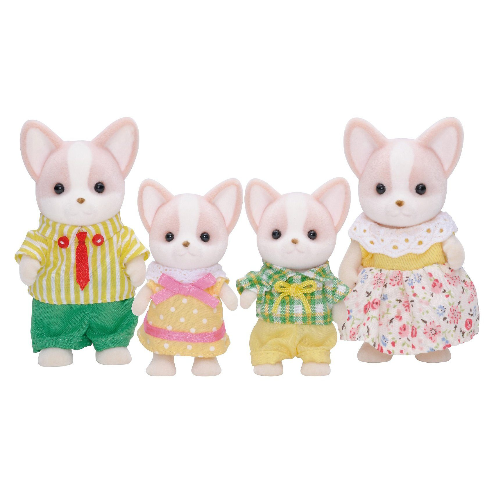 Epoch Traumwiesen Sylvanian Families Chihuahua: Familie Wuffel Puppenhauszubeh