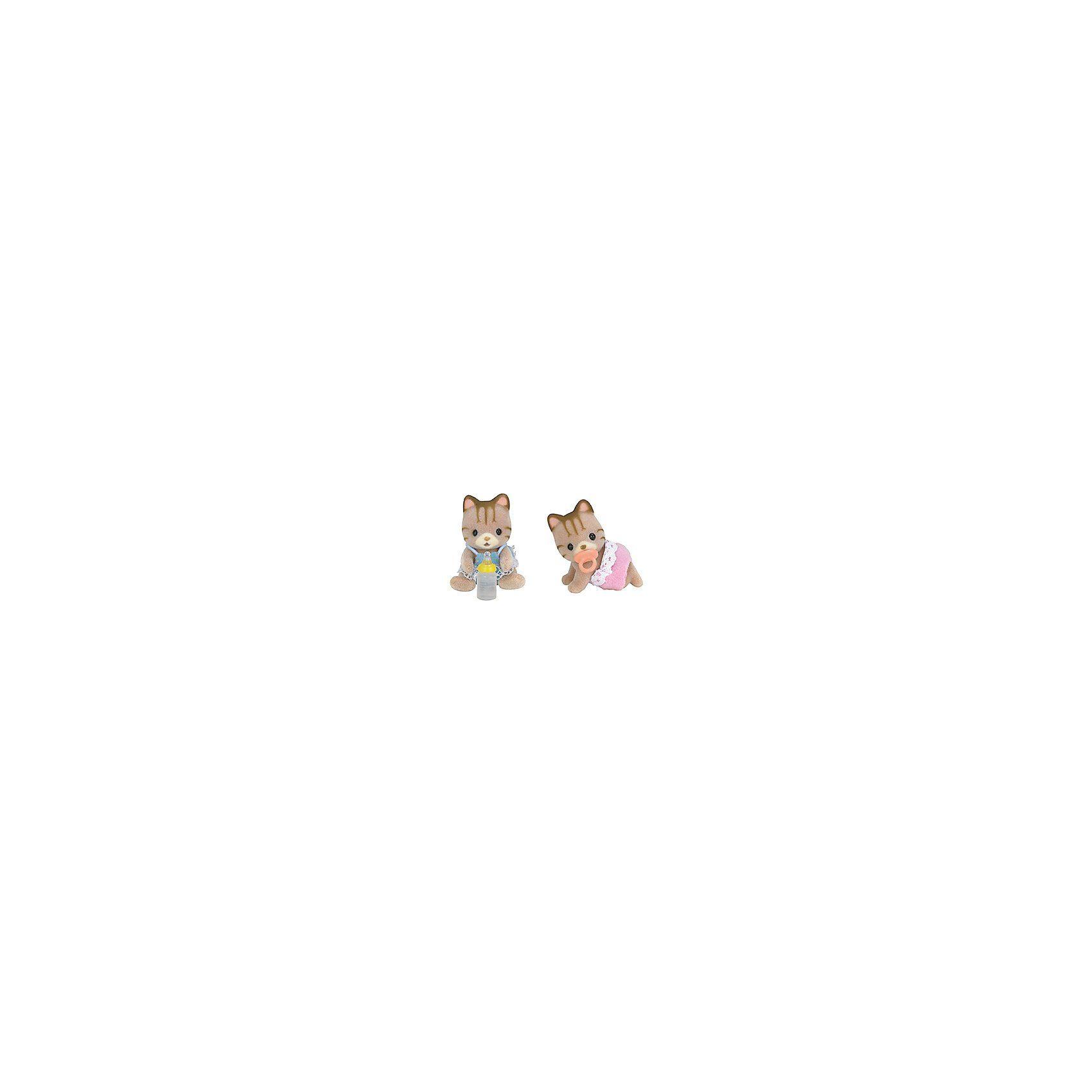 Epoch Traumwiesen Sylvanian Families Walnuss Eichhörnchen Zwillinge Puppenhaus