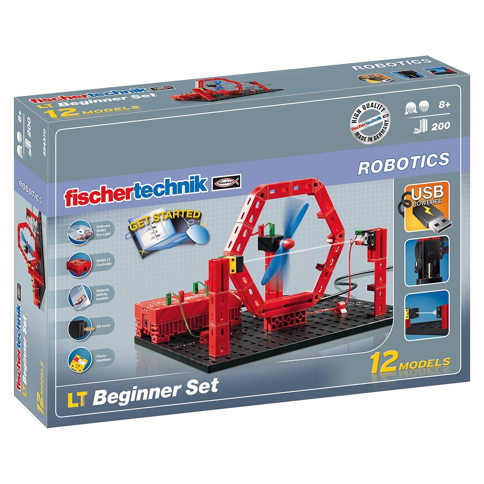 """fischertechnik ROBOTICS """"LT Beginner Set"""" - Robotik Einsteigerpaket"""