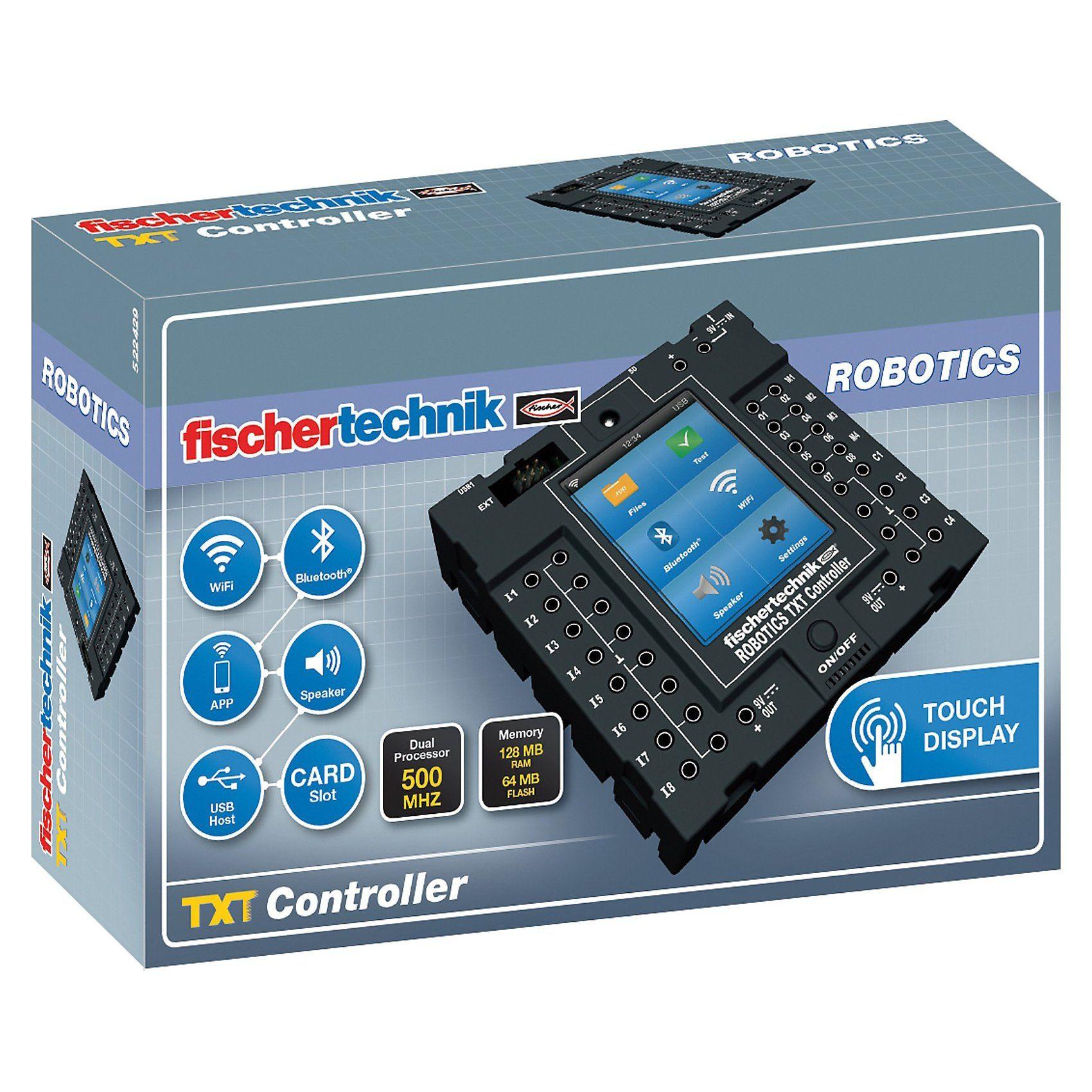 """fischertechnik ROBOTICS """"TXT Controller"""" - Ergänzungsset"""
