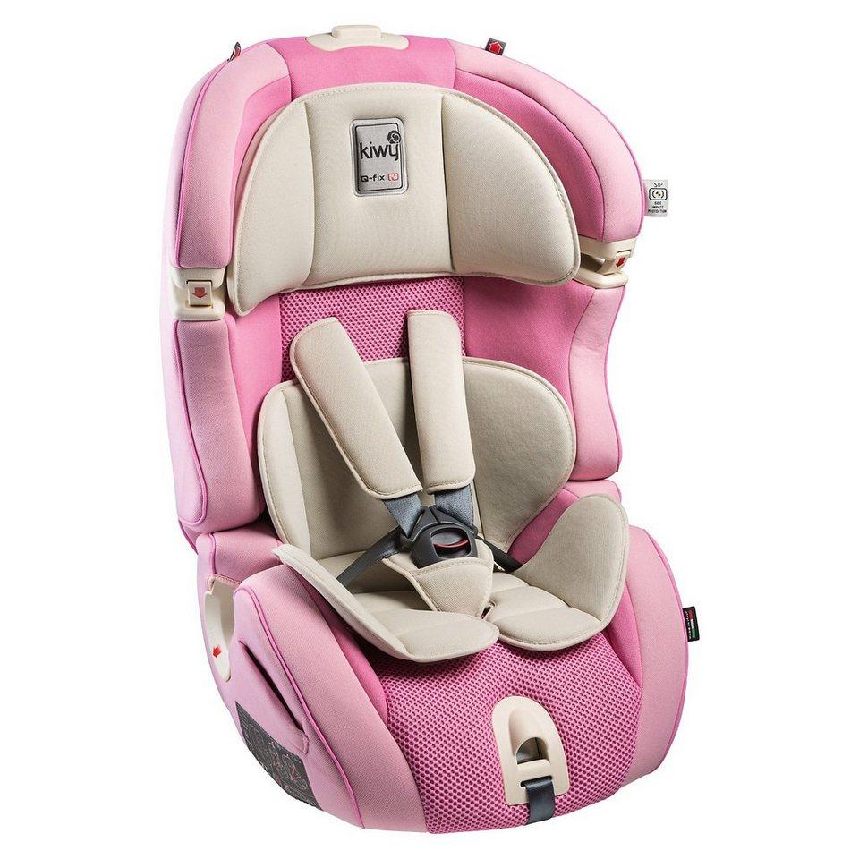 Kiwy Auto-Kindersitz SLF123 Q-Fix, Candy, 2016 in rosa