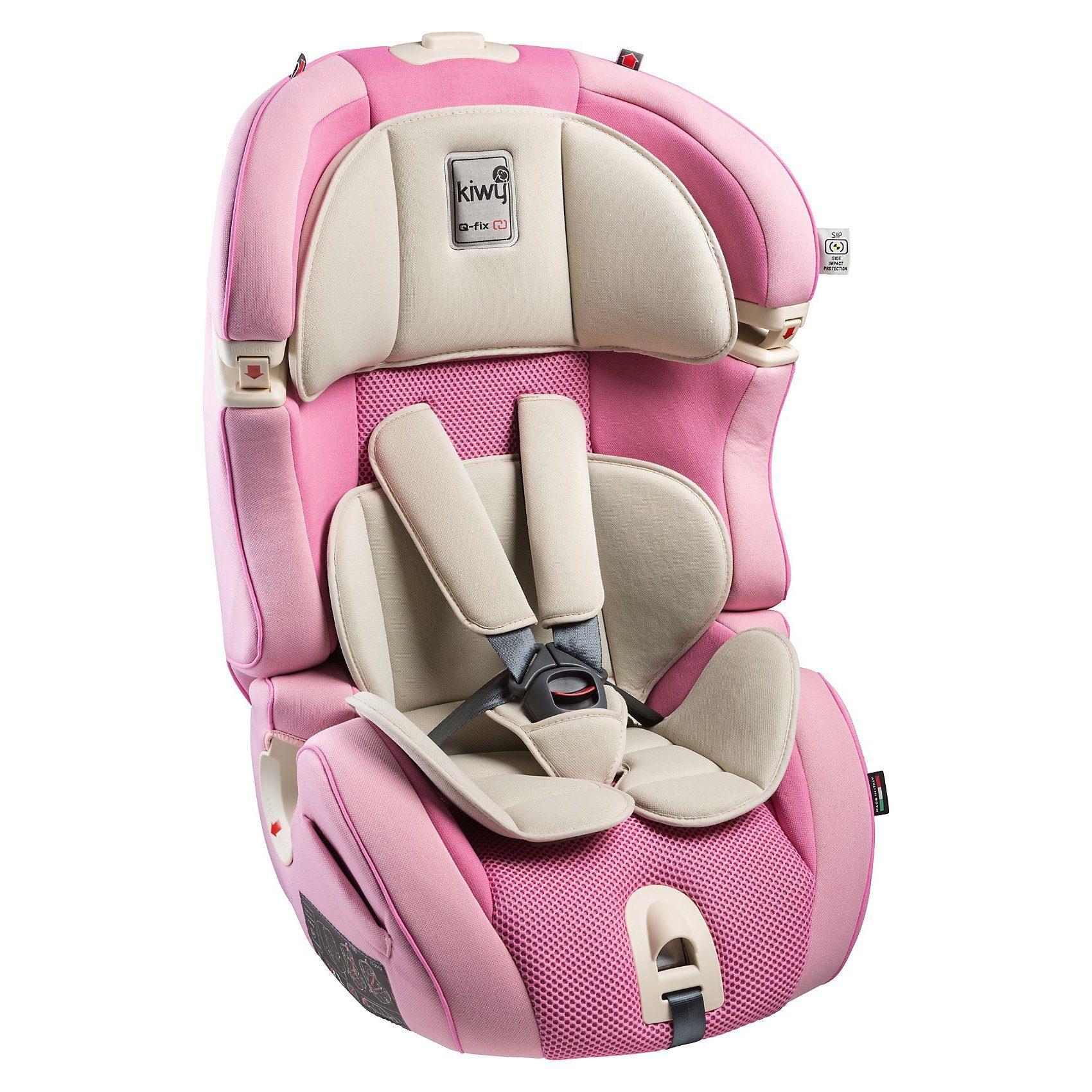Kiwy Auto-Kindersitz SLF123 Q-Fix, Candy, 2016