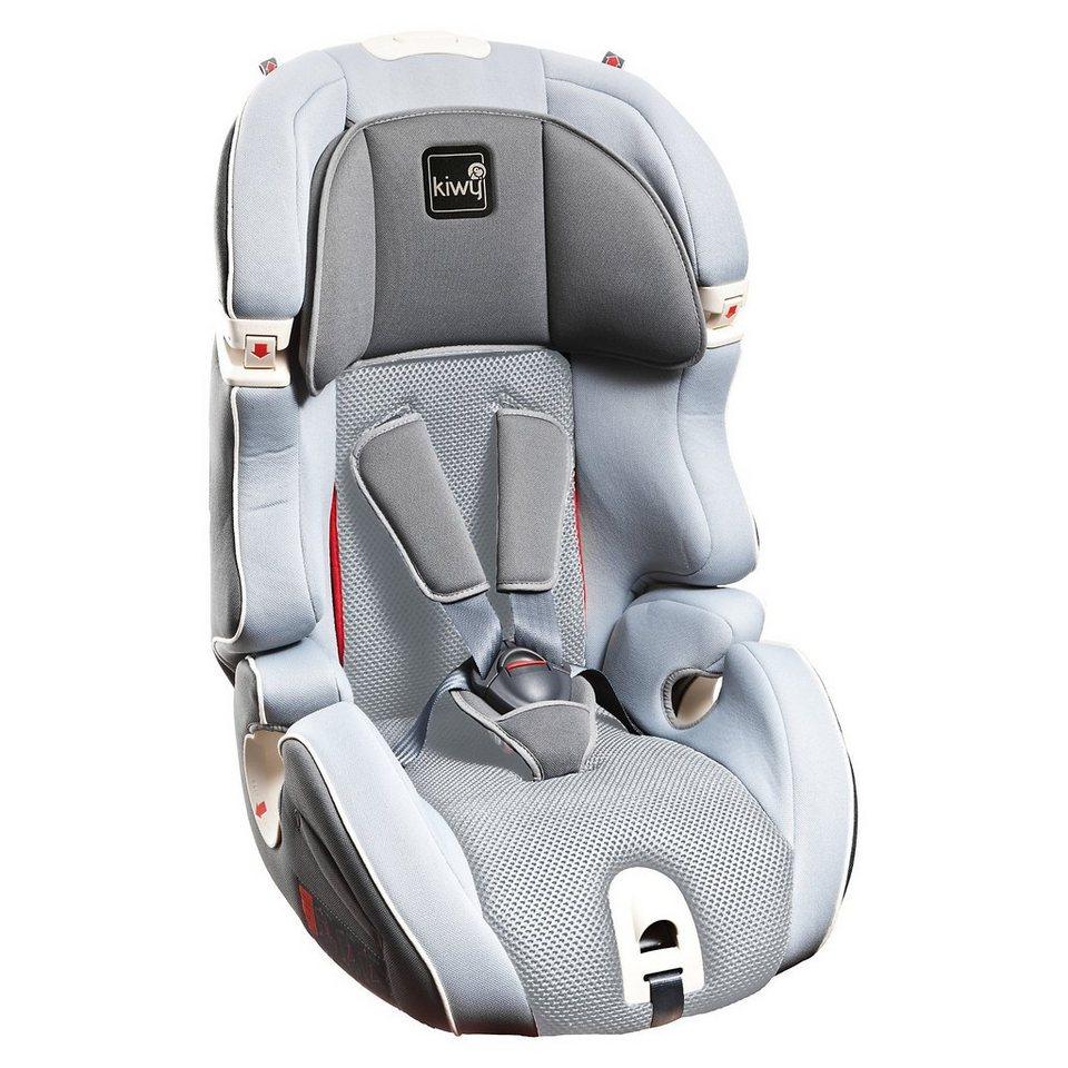 Kiwy Auto-Kindersitz S123, Stone, 2016 in grau