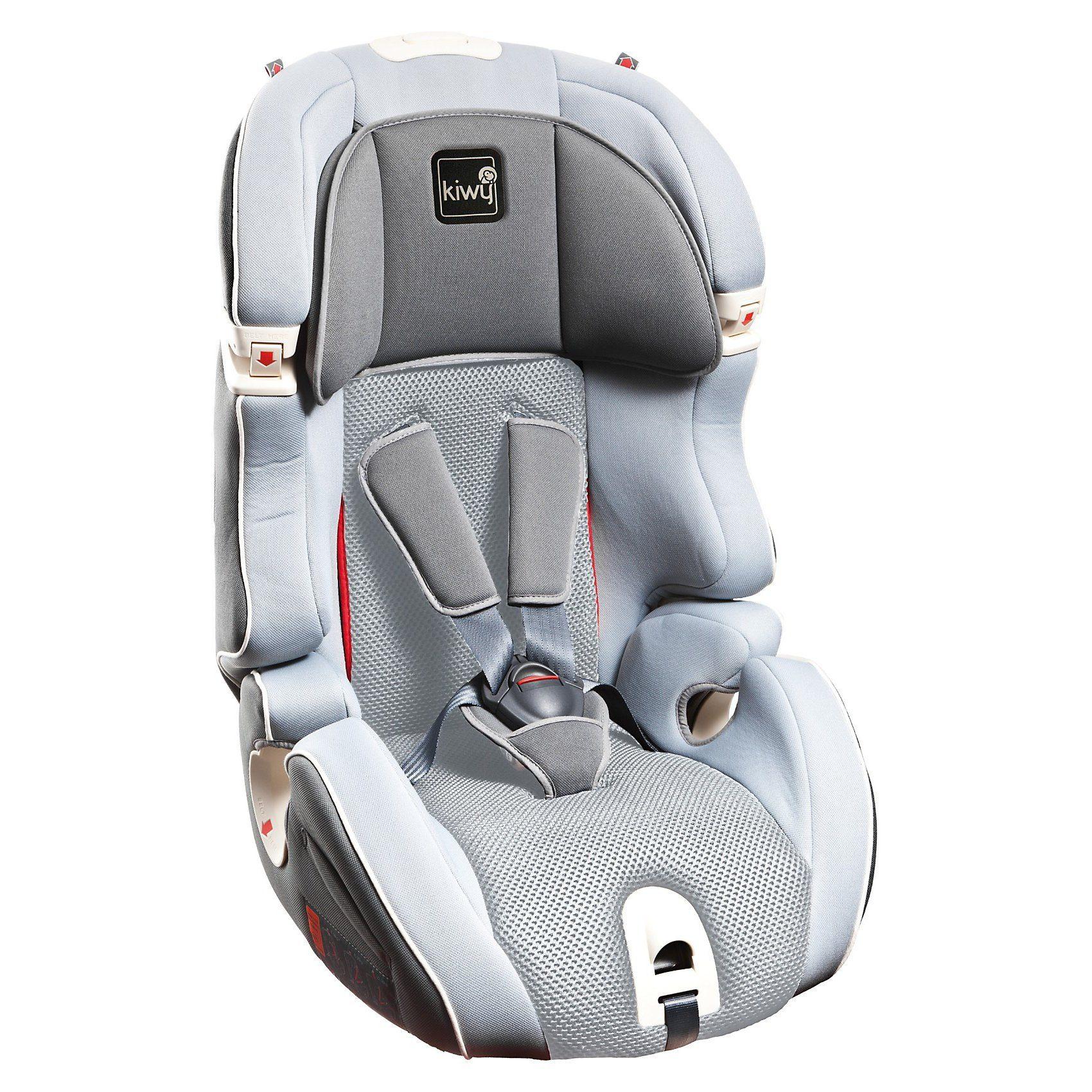 Kiwy Auto-Kindersitz S123, Stone, 2017