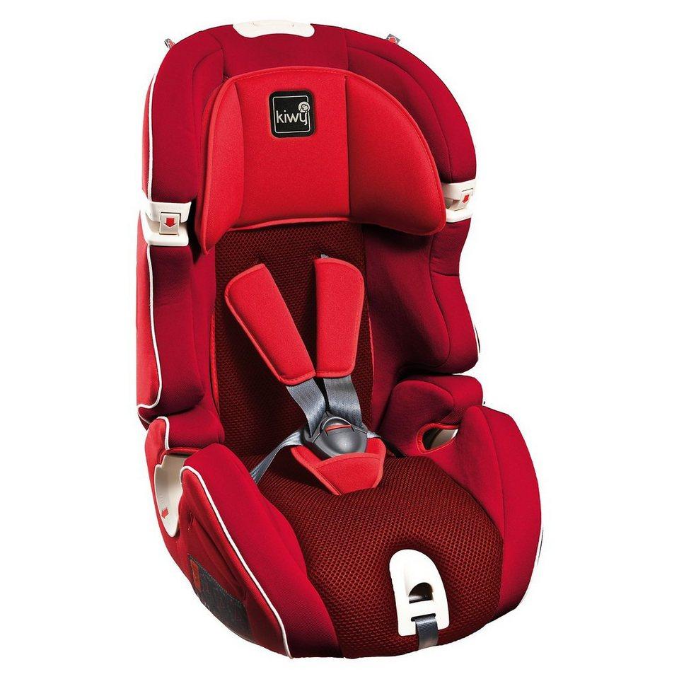 Kiwy Auto-Kindersitz S123, Cherry, 2016 in rot