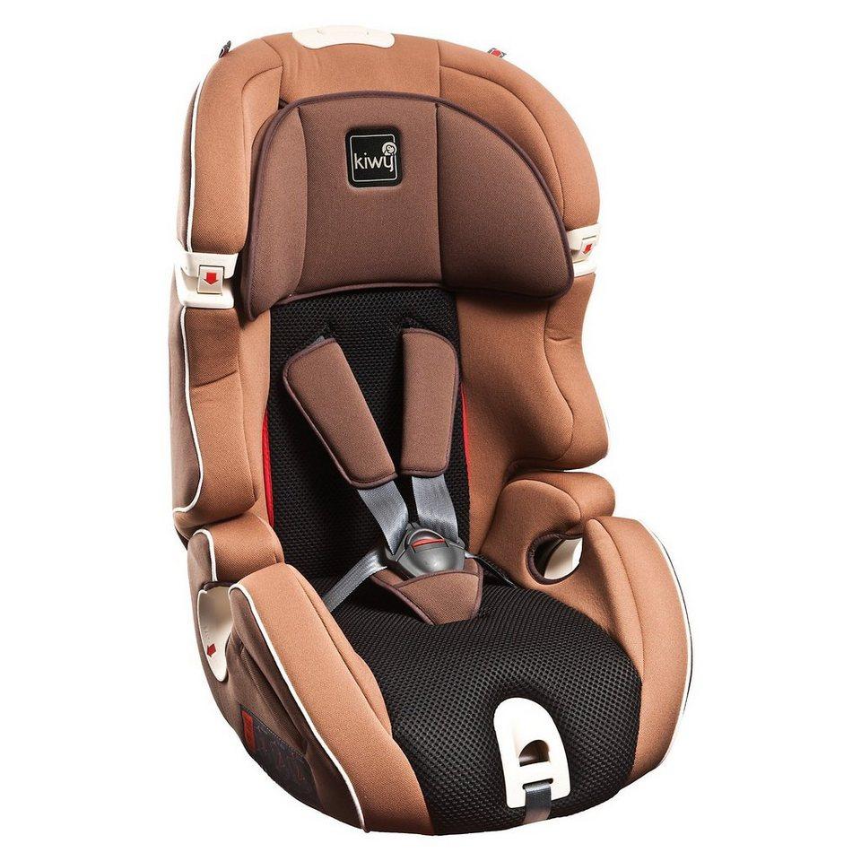 Kiwy Auto-Kindersitz S123, Moka, 2016 in braun