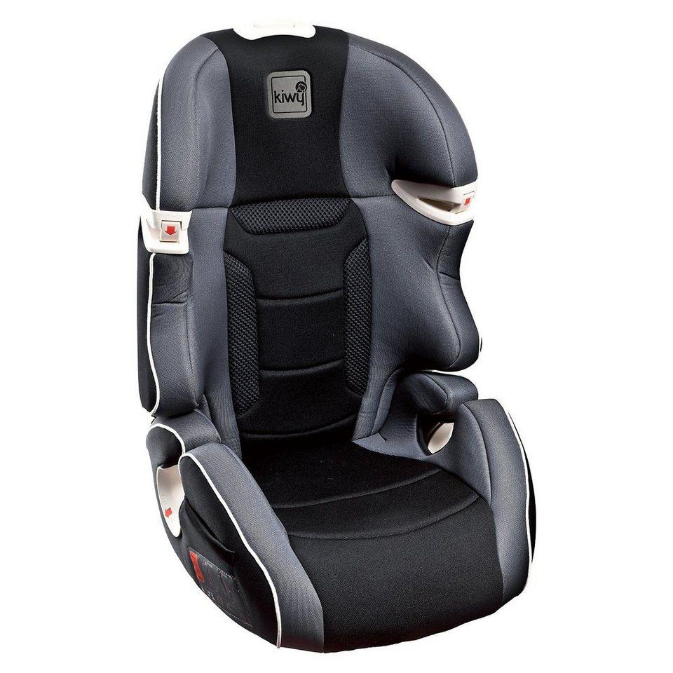 Kiwy Auto-Kindersitz S23, carbon, 2016 in schwarz