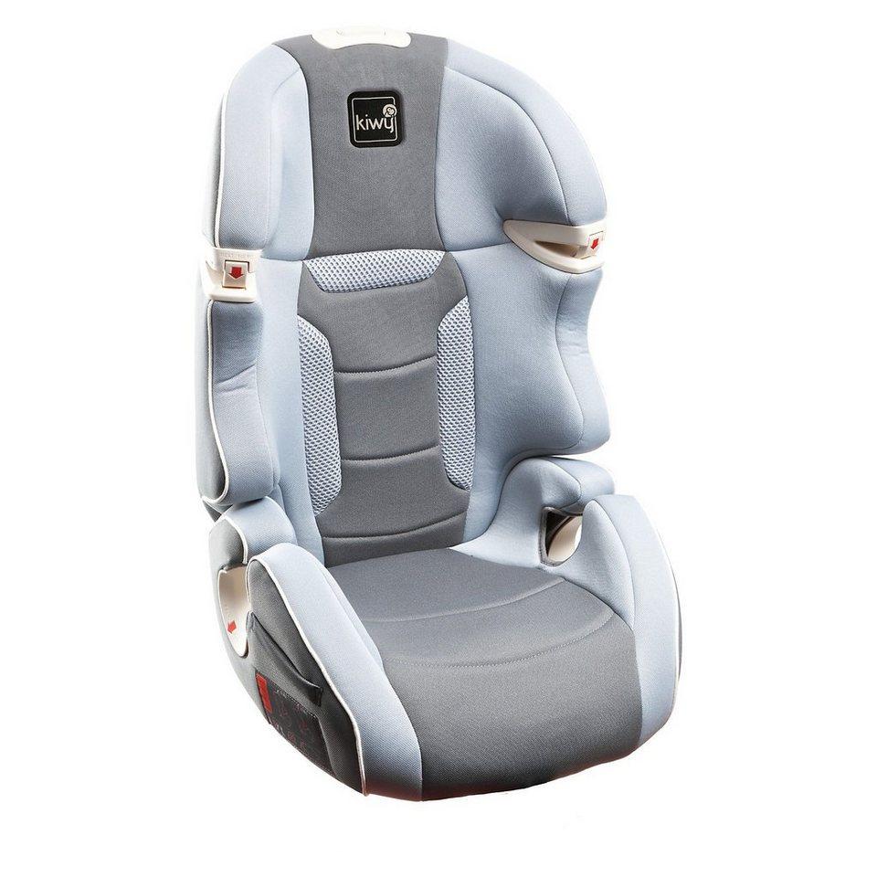 Kiwy Auto-Kindersitz S23, stone, 2016 in grau