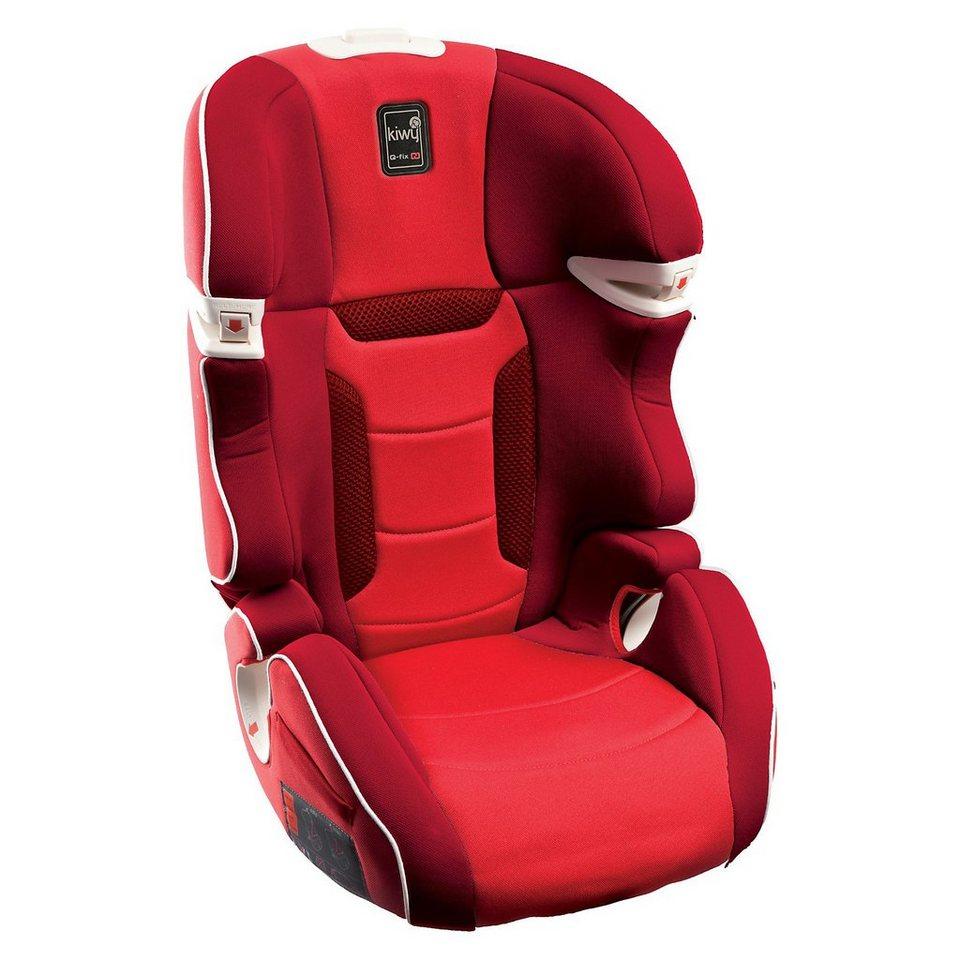 Kiwy Auto-Kindersitz SLF23 Q-Fix, Cherry, 2016 in rot