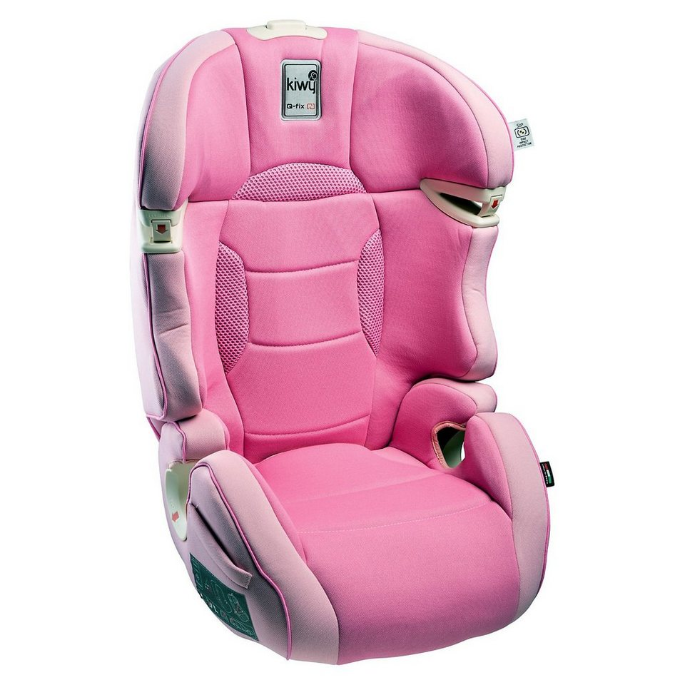 Kiwy Auto-Kindersitz SLF23 Q-Fix, Candy, 2016 in rosa
