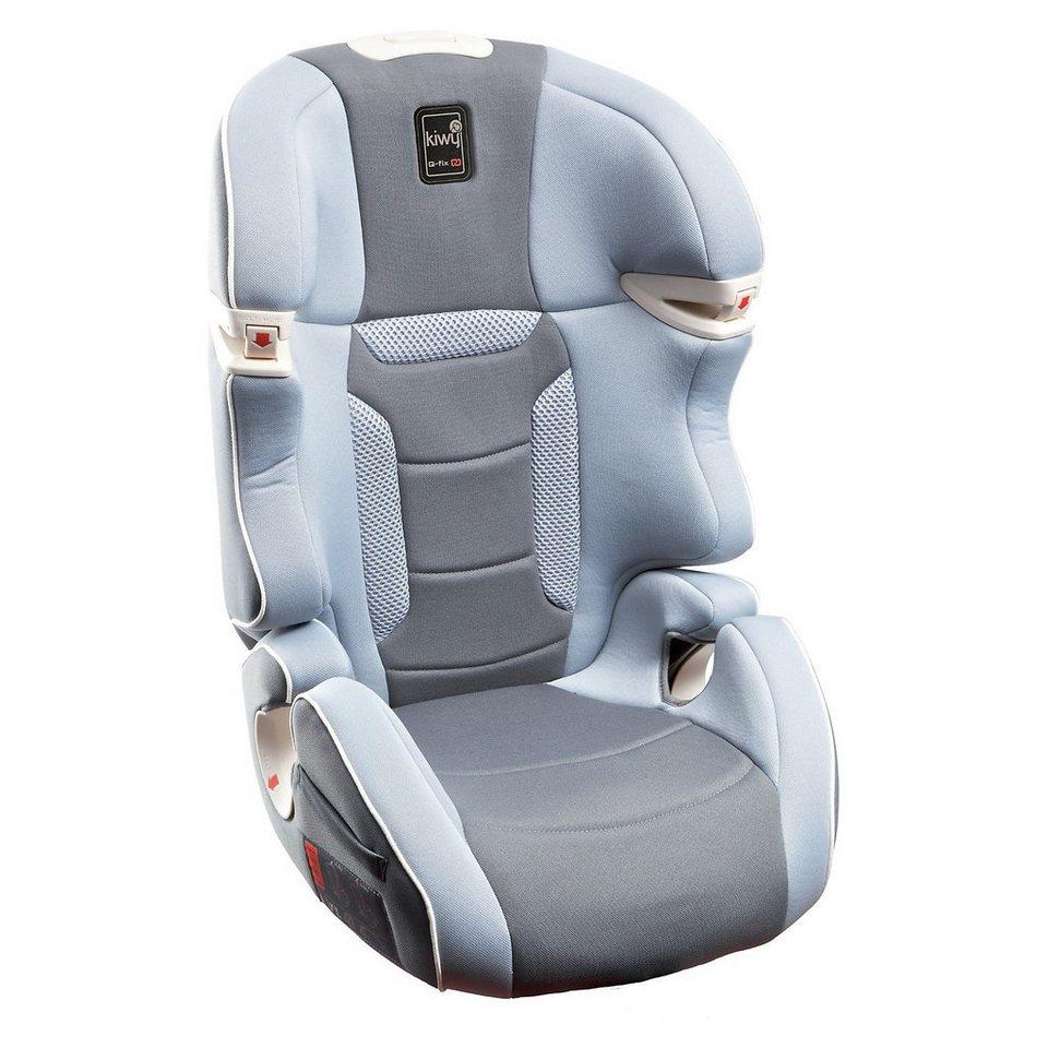 Kiwy Auto-Kindersitz SLF23 Q-Fix, Stone, 2016 in grau