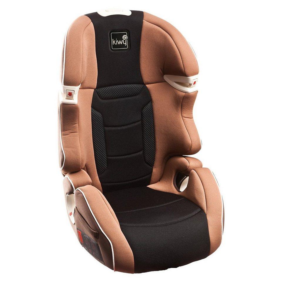 Kiwy Auto-Kindersitz S23, moka, 2016 in braun