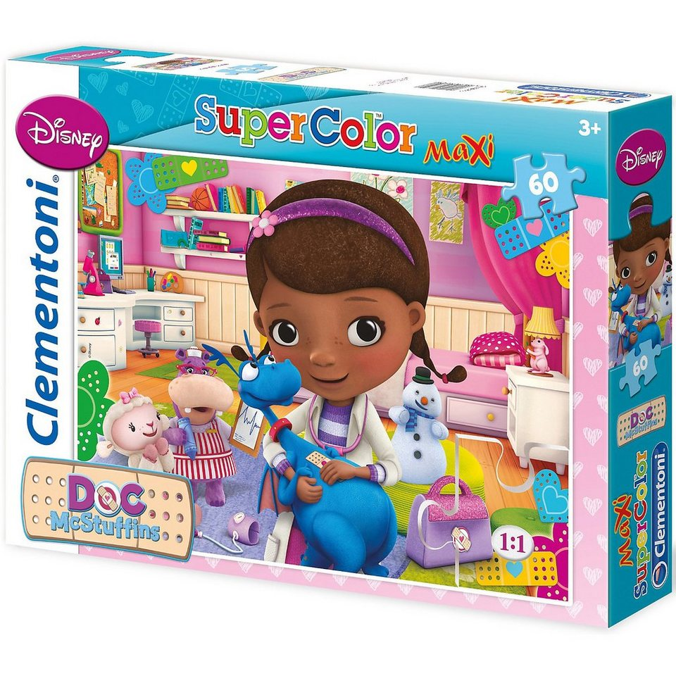 Clementoni Puzzle - 60 Teile Maxi - Doc McStuffins