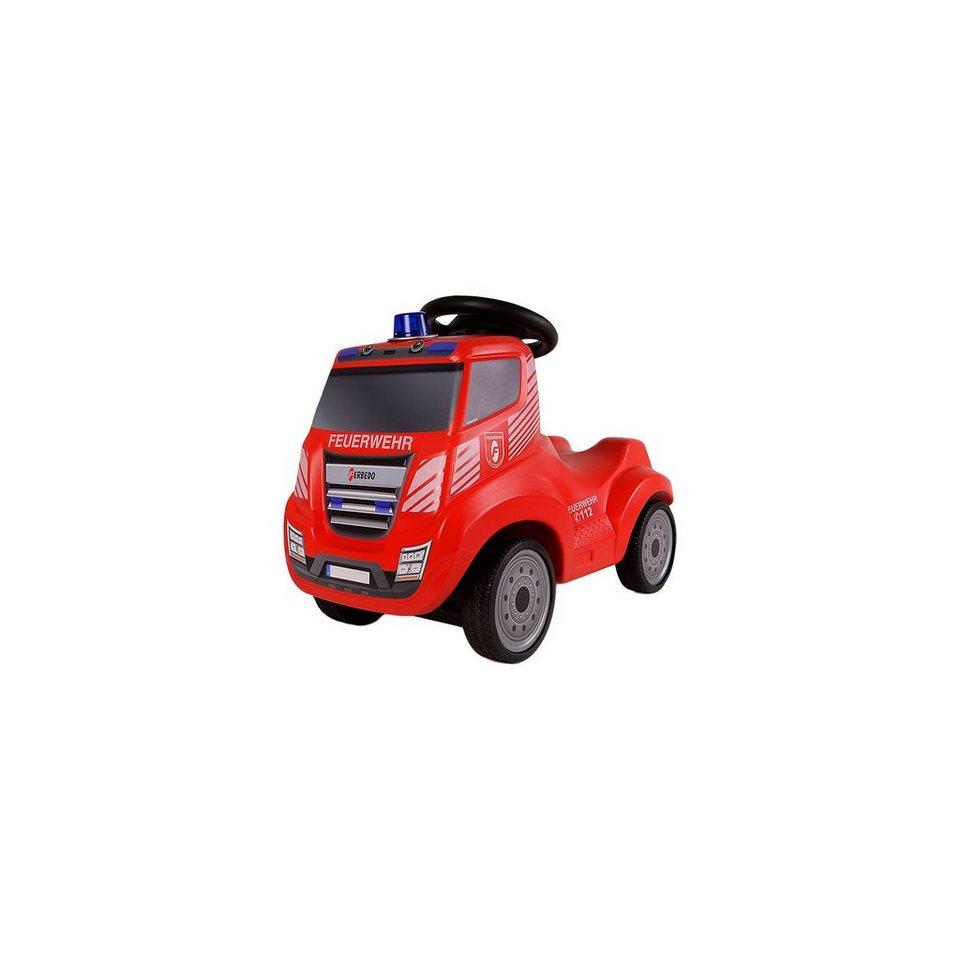 Ferbedo Truck Rutscher Iveco, rot in rot