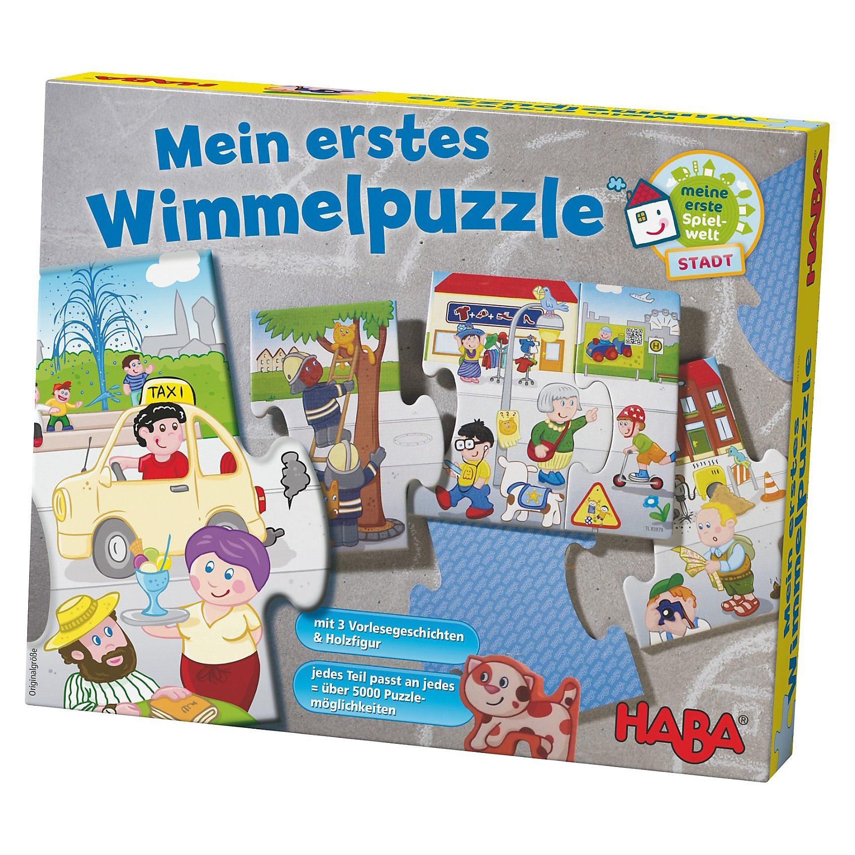 Haba Mein erstes Wimmelpuzzle - Stadt