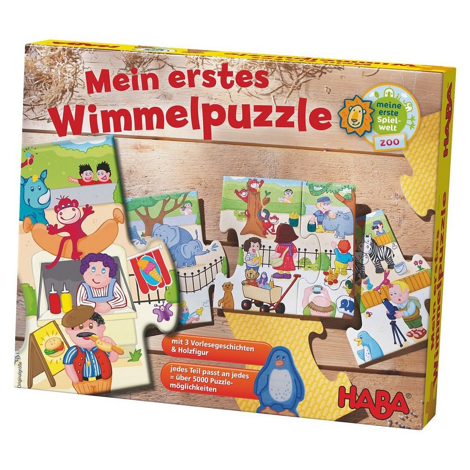 Haba Mein erstes Wimmelpuzzle - Zoo