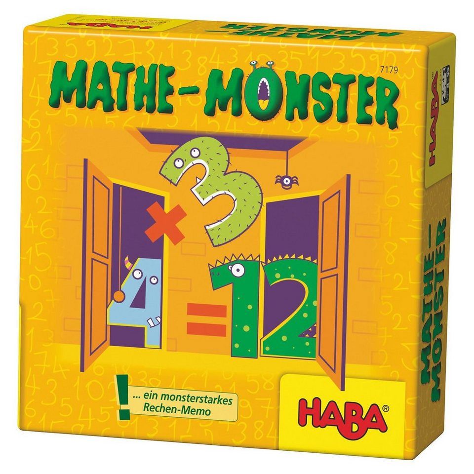 Haba Mathe - Monster