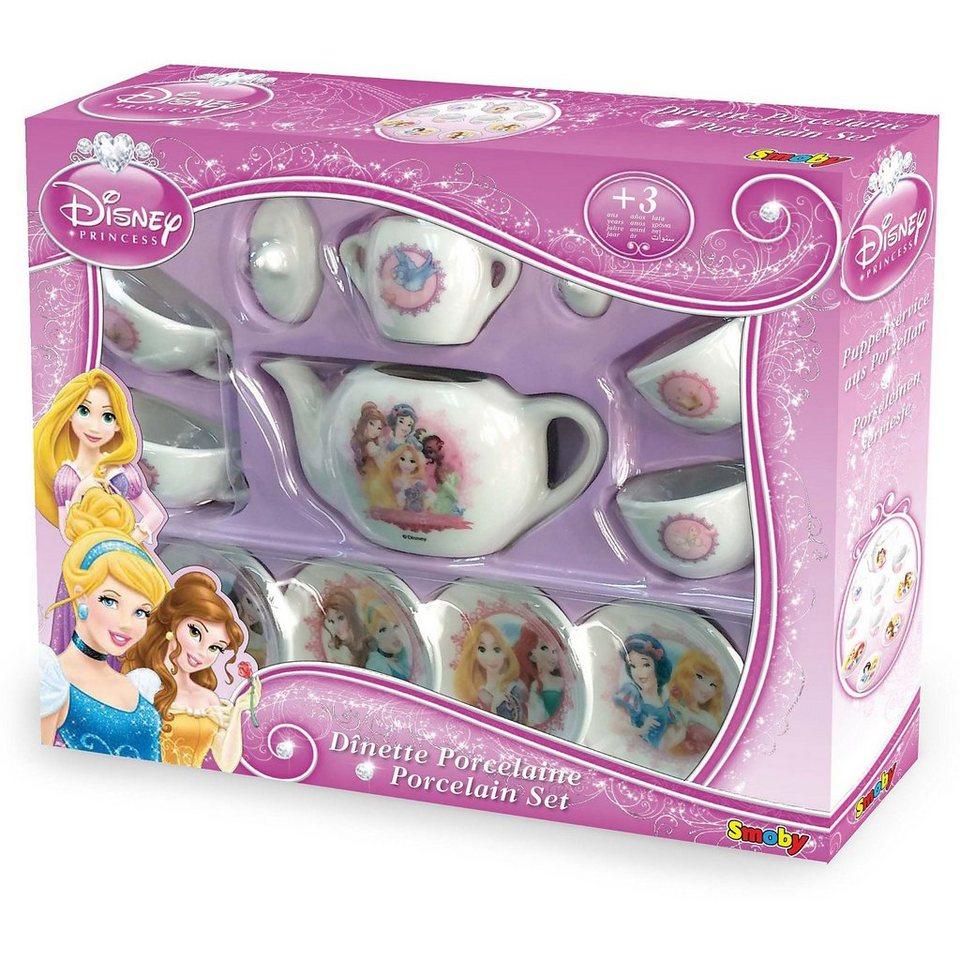 Smoby Disney Princess Porzellan Kaffee-Spielgeschirrset