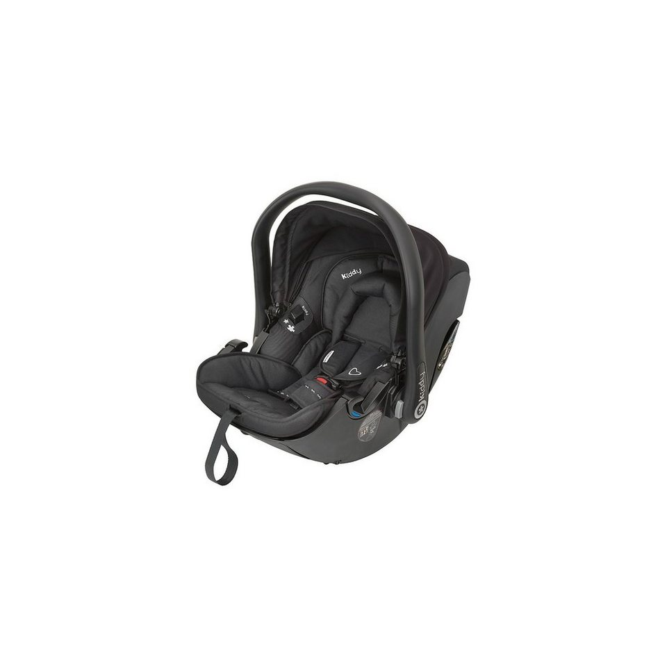 Kiddy Babyschale Evolution Pro 2, Racing Black, 2015 in schwarz