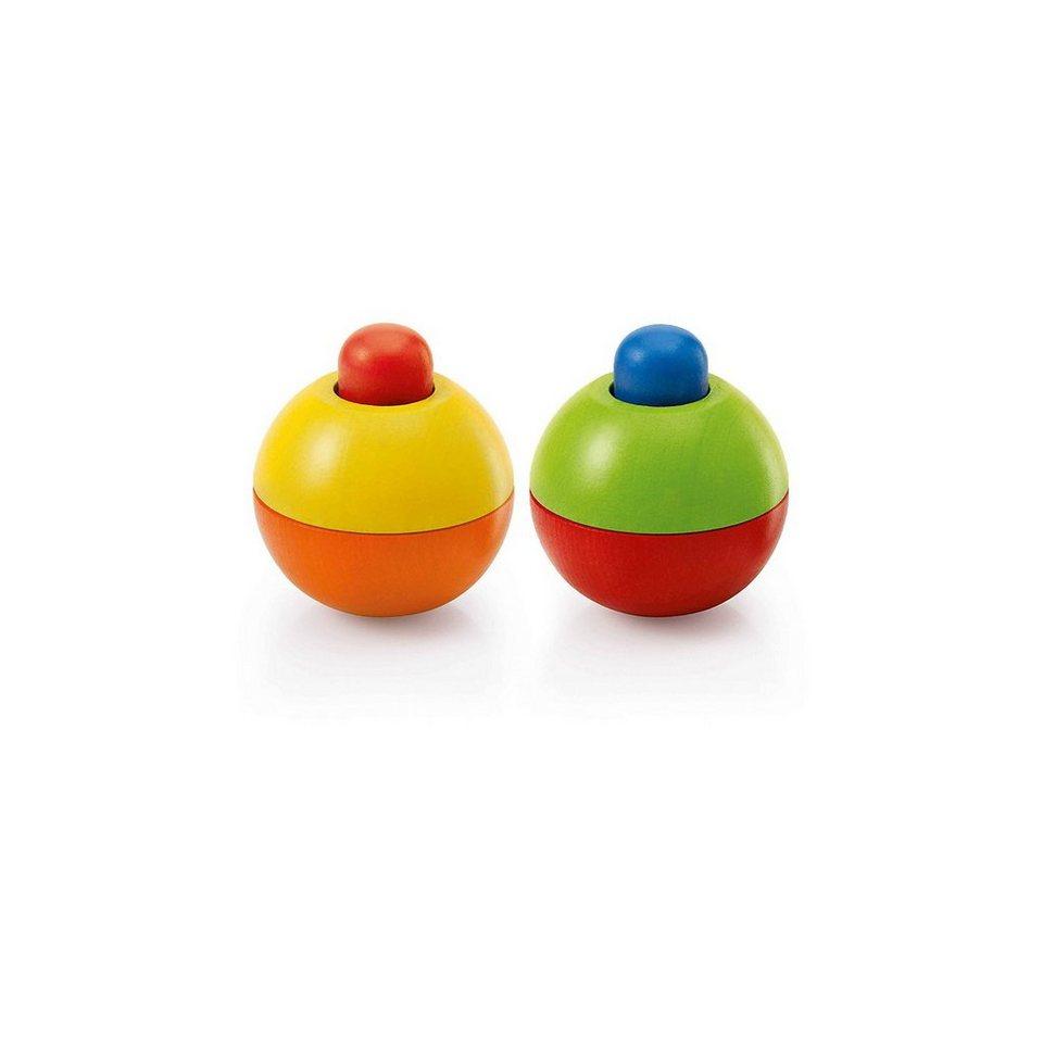 Selecta Greiflingset Quietschkugel blau-rot