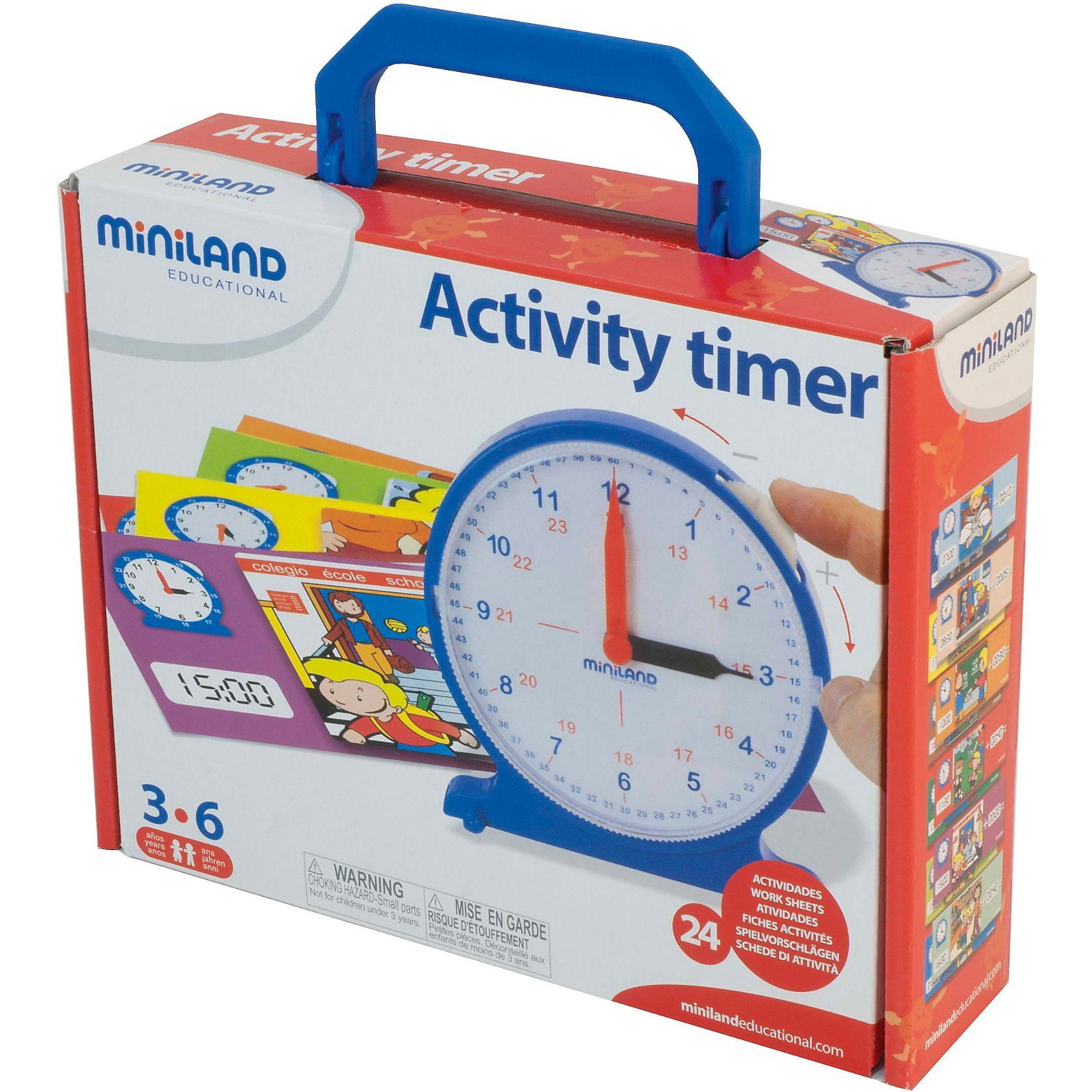 Miniland Activity Timer - Lernuhr