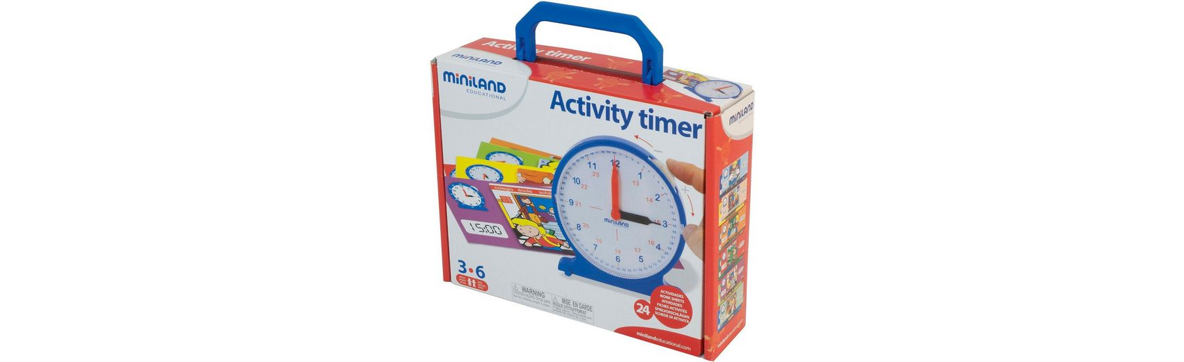 Miniland Activity Timer - Lernuhr