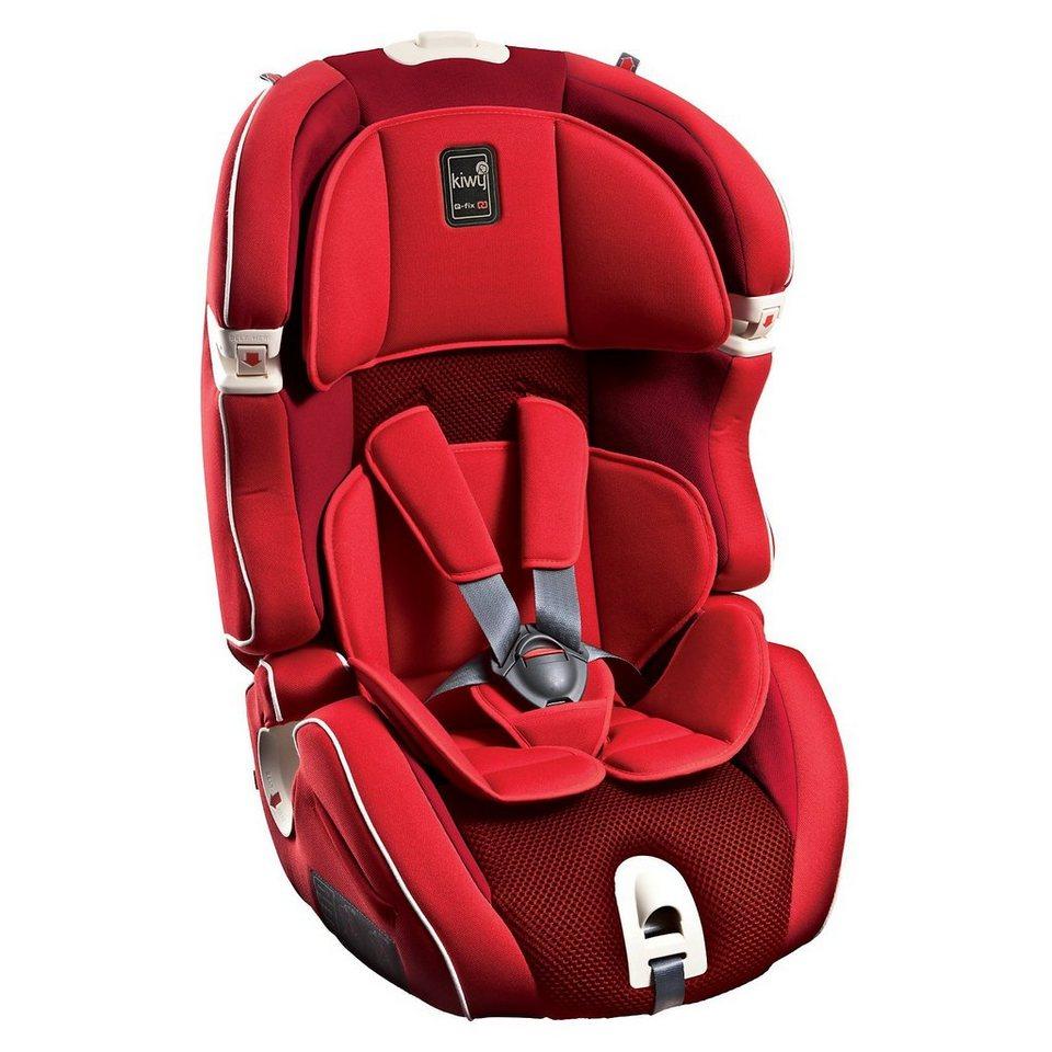Kiwy Auto-Kindersitz SLF123 Q-Fix, Cherry, 2016 in rot